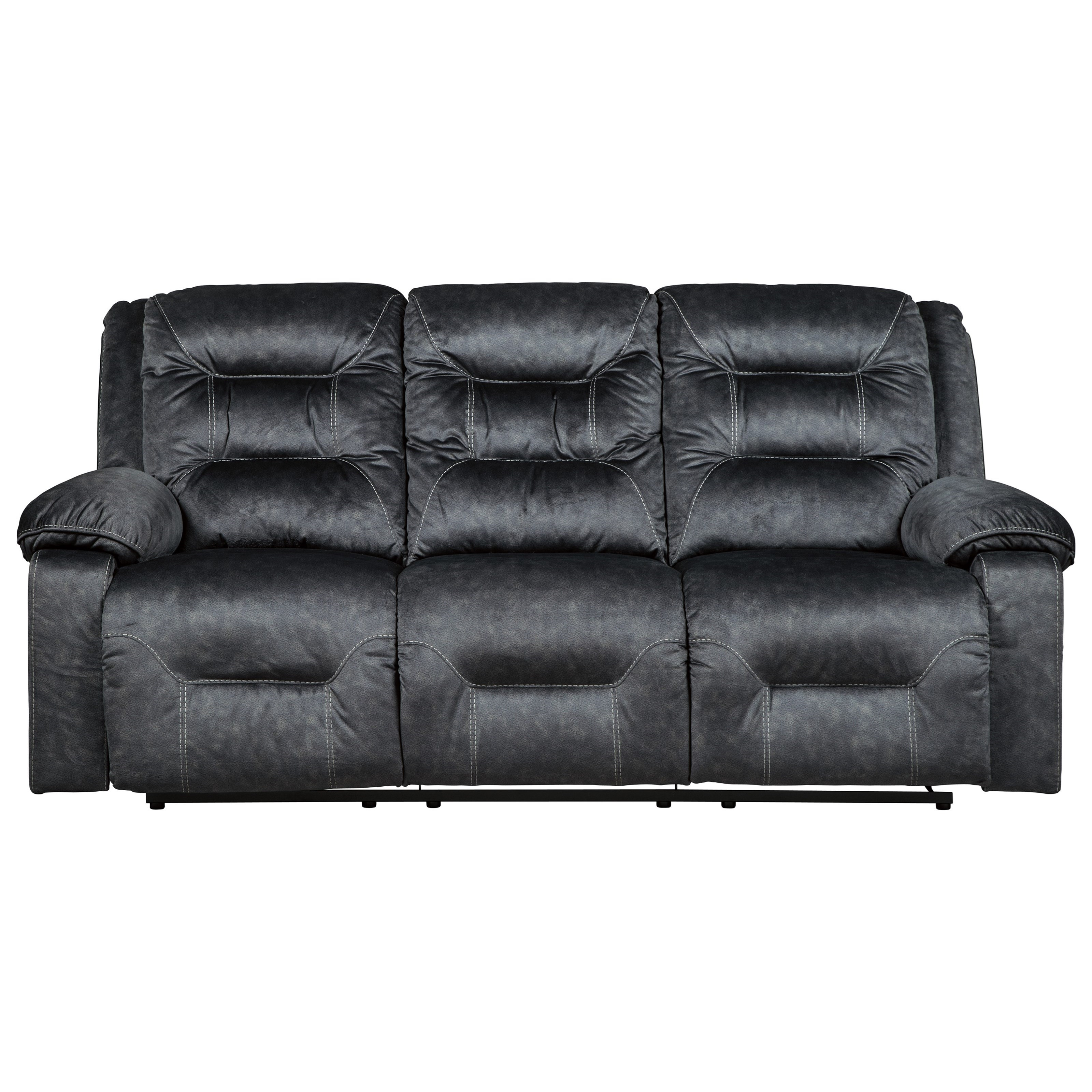 Sofa Relax Con Usb Waldheim Power Reclining Sofa W Adjustable Headrests By Signature Design By Ashley At Household Furniture