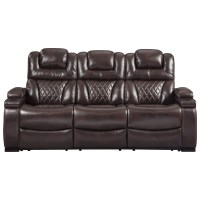 Signature Design by Ashley Warnerton Power Reclining Sofa ...