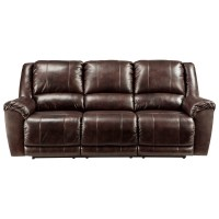 Ashley Leather Reclining Sofa Signature Design By Ashley ...