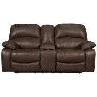 Ashley (Signature Design) Zavier Glider Reclining Loveseat ...