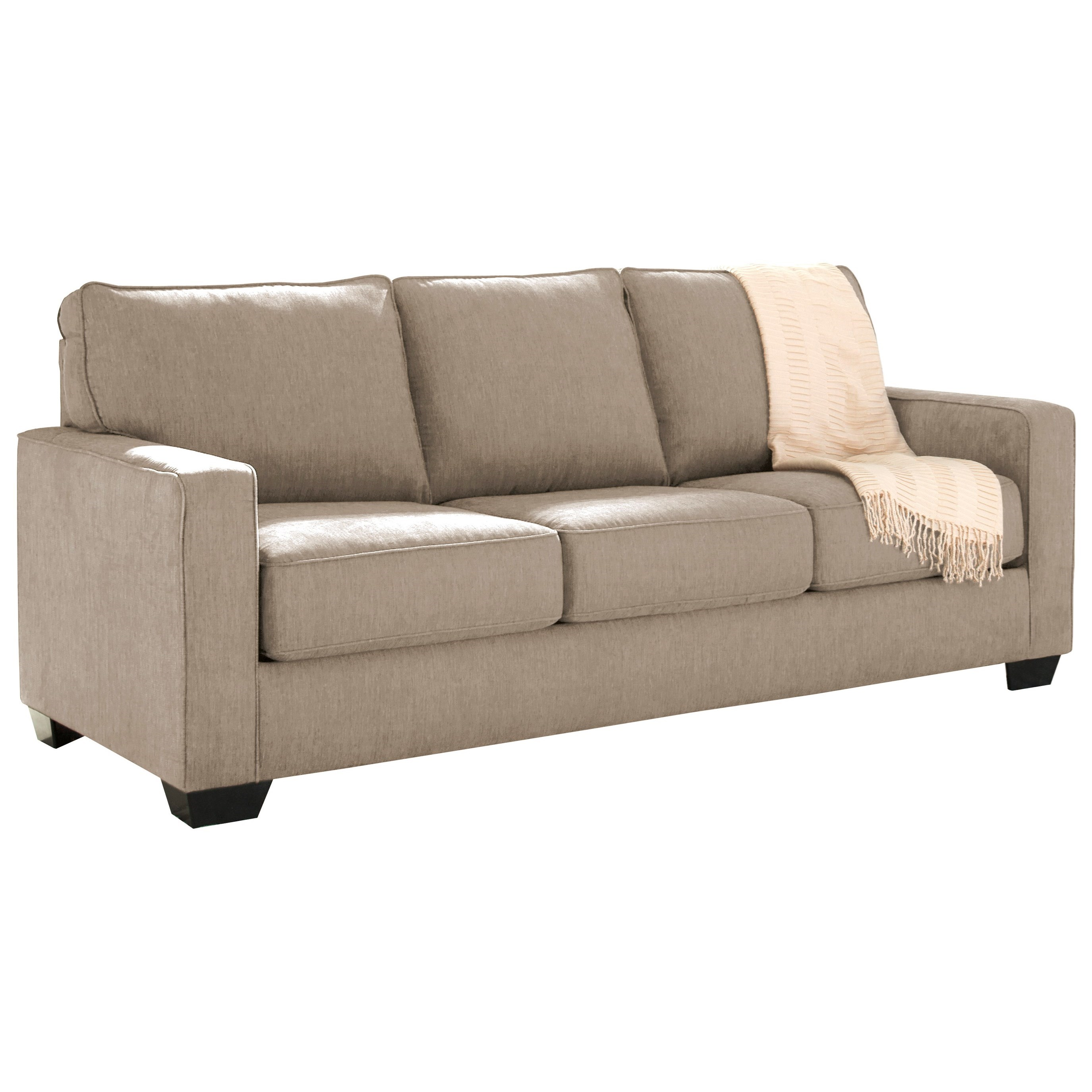 Couches Sleeper Zeb Queen Sofa Sleeper With Memory Foam Mattress By Signature Design By Ashley At Household Furniture