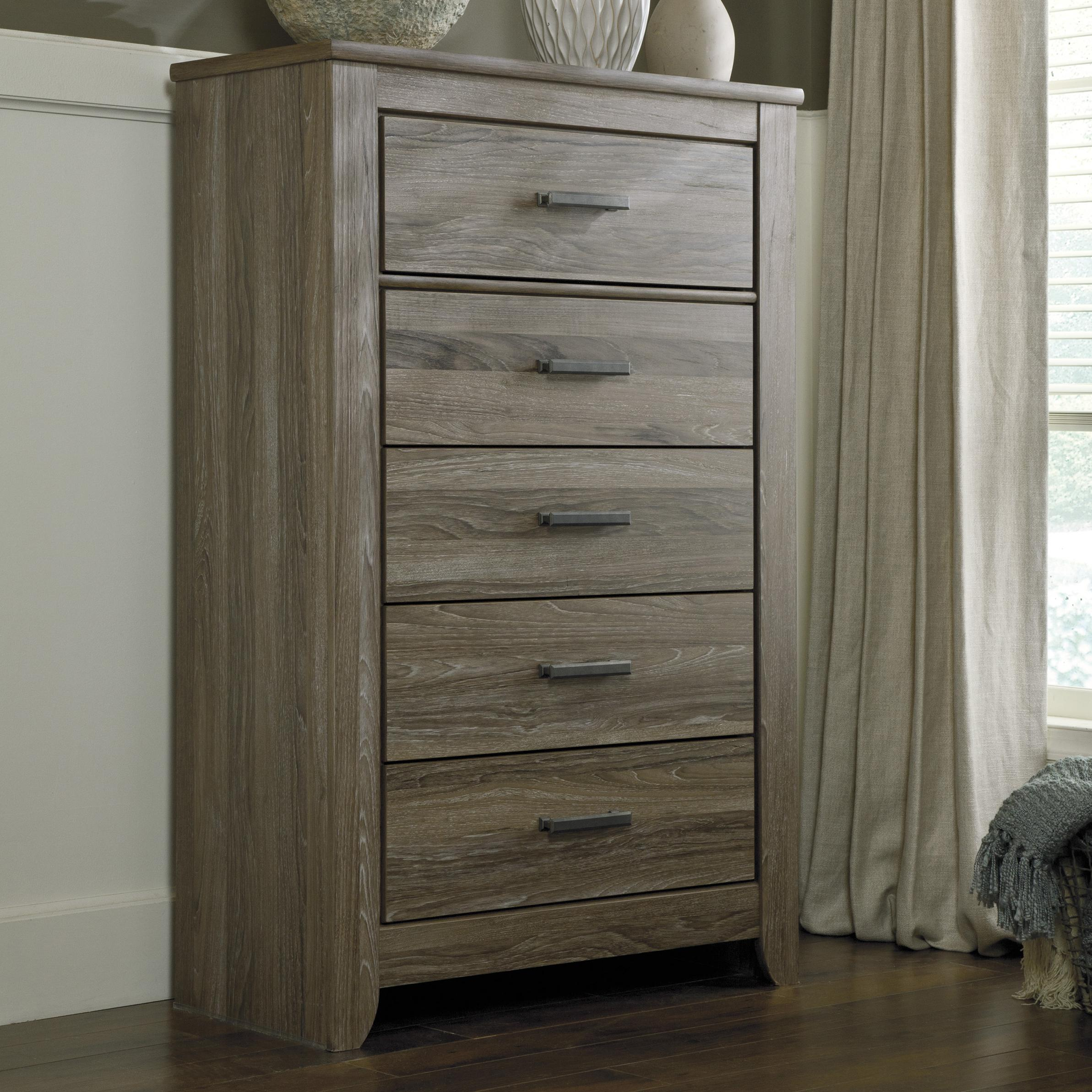 Bedroom Furniture Online Canada Barnwood Rustic 5 Drawer Chest By Styleline At Efo Furniture Outlet