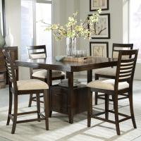 Standard Furniture Avion 5 Piece Counter Height Table Set ...