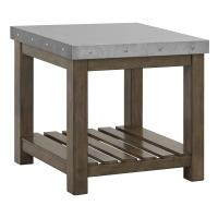 Standard Furniture Riverton Accent Tables Metal Top End ...