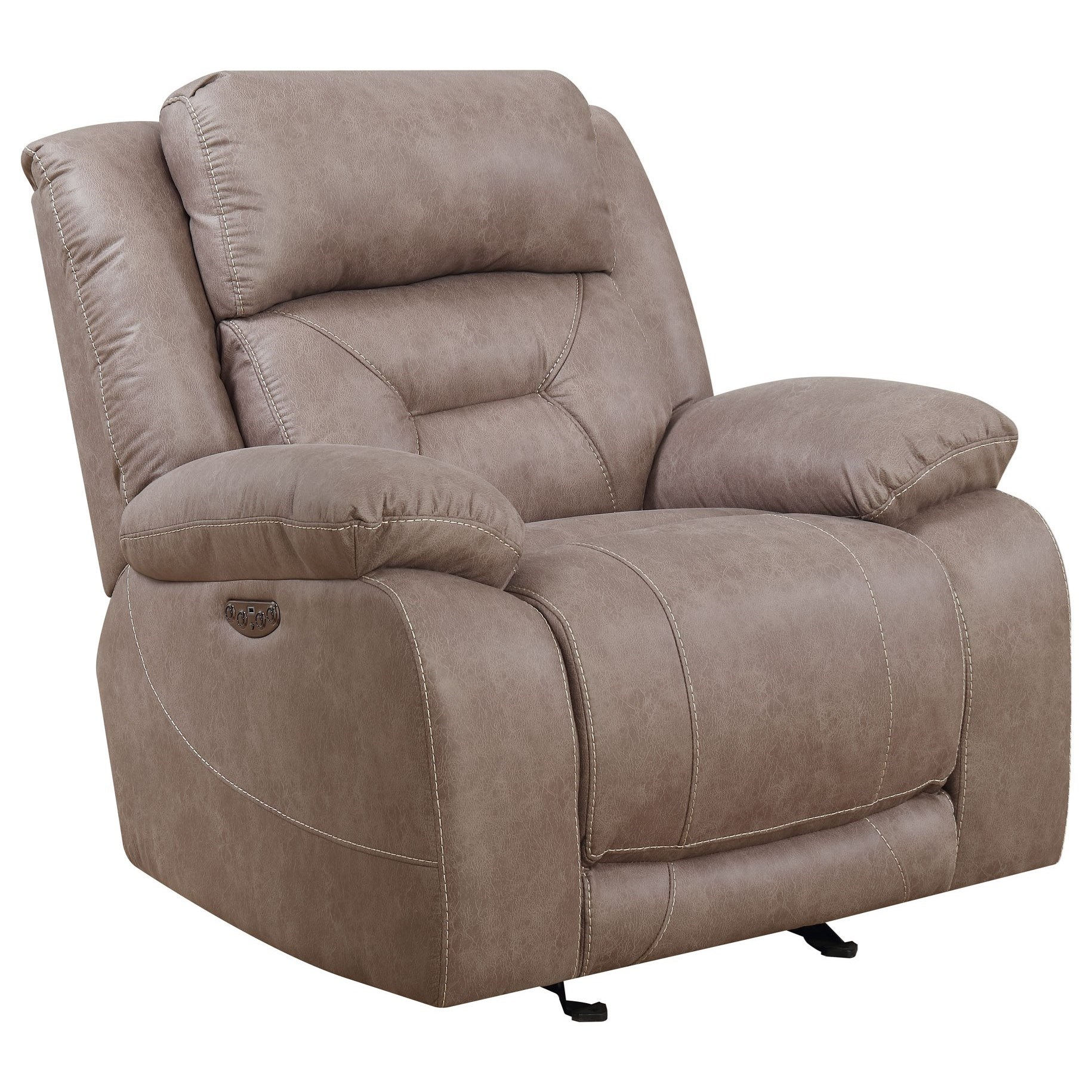 Vendor 3985 Aria 0176074 Power Recliner Becker Furniture Recliners