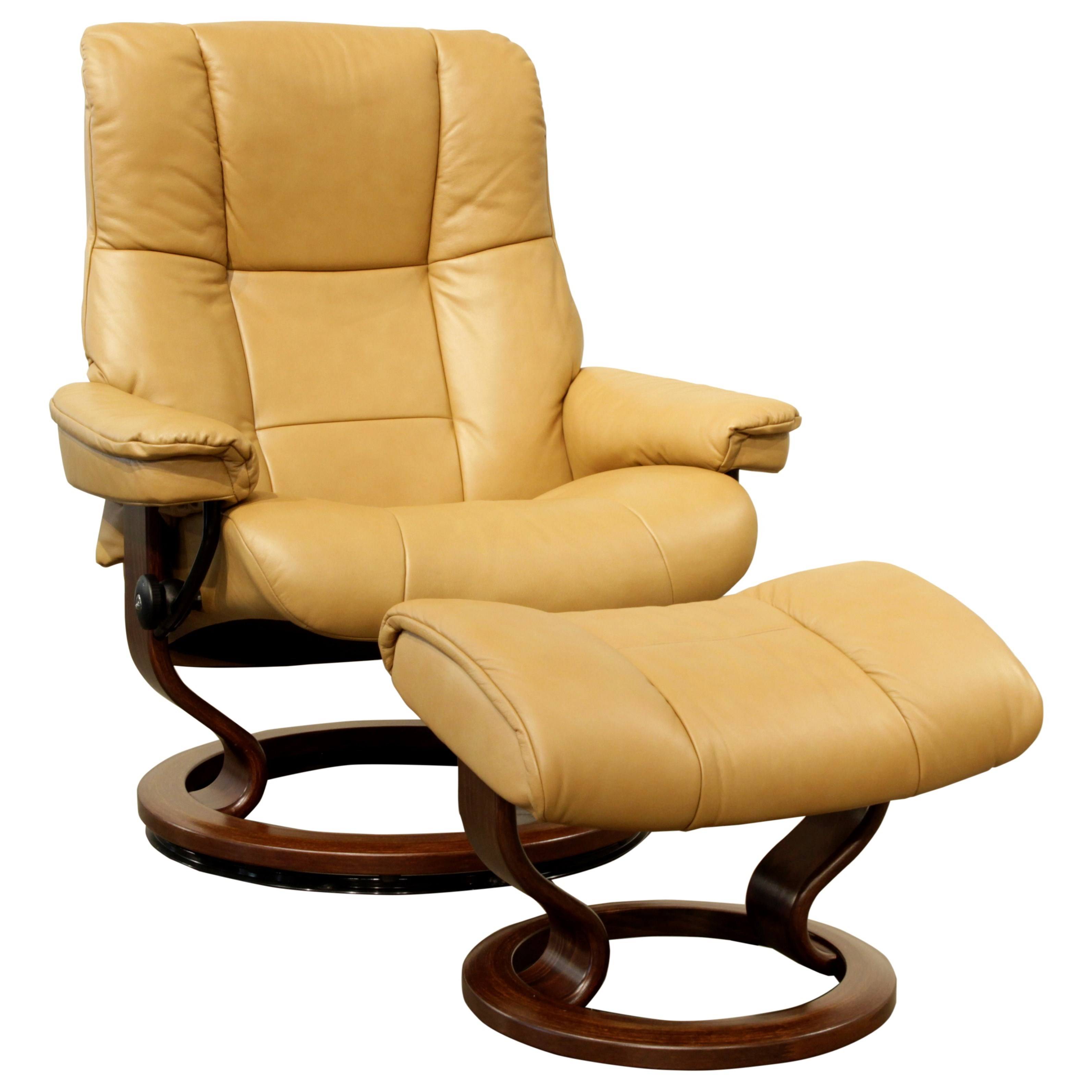 Stressless Recliners With Ottoman Stressless Mayfair Large Stressless Chair And Ottoman