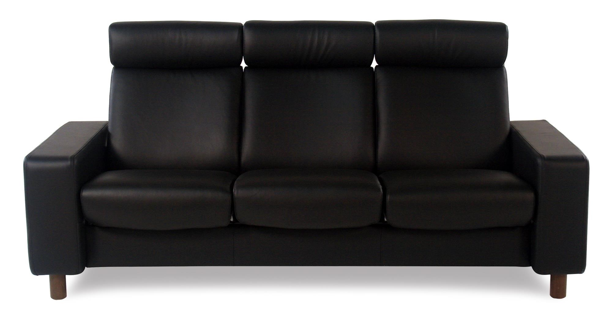 Stressless Cream Sofa High Back Sofa Stressless Buckingham 3 Seat High Back Sofa