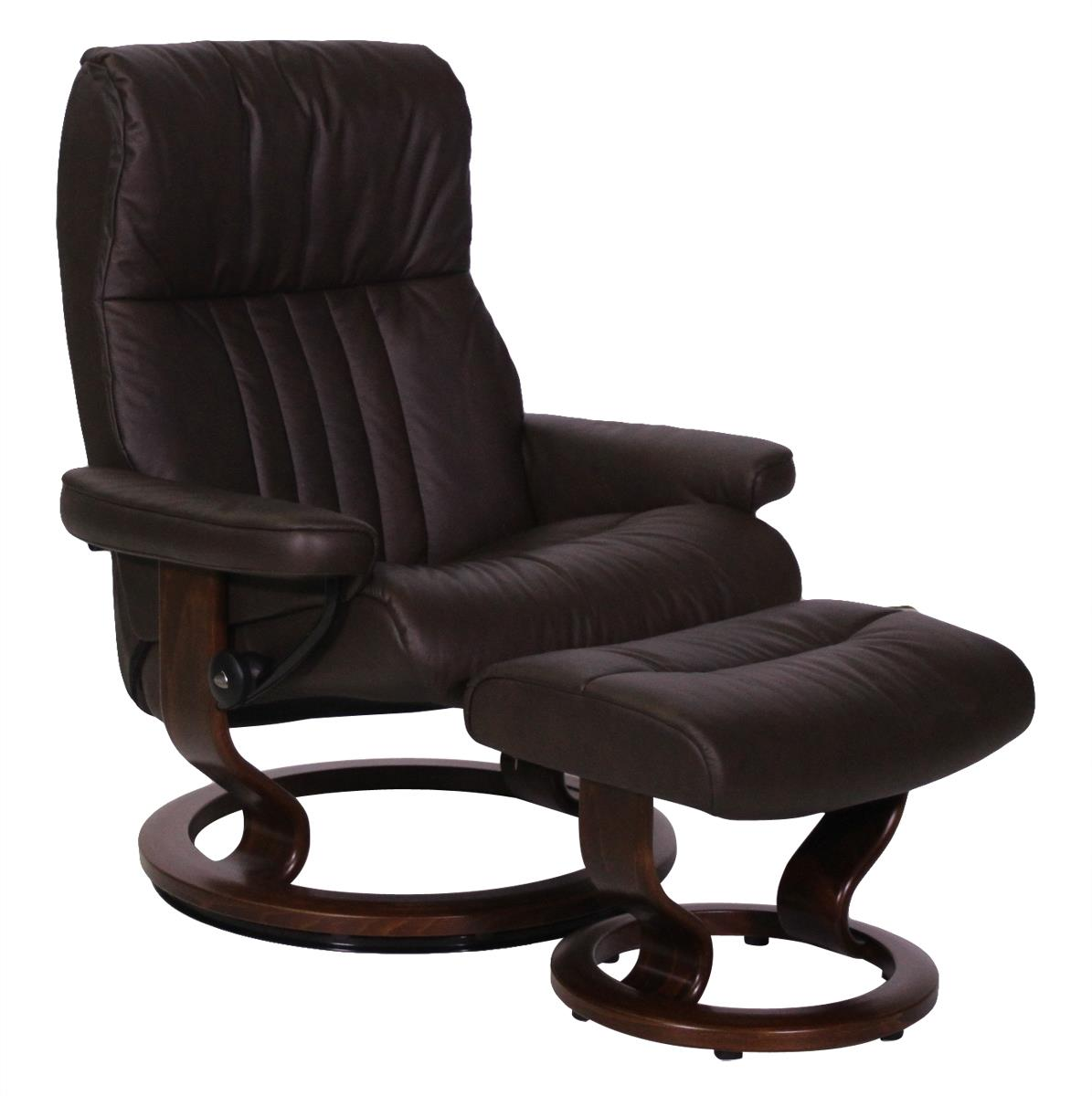 Stressless Recliners With Ottoman Stressless By Ekornes Crown Large Reclining Chair