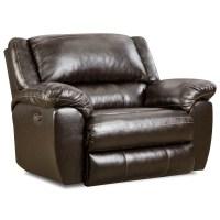 Simmons Upholstery 50433BR 50433BRPOWERCUDDLERRECLINER ...