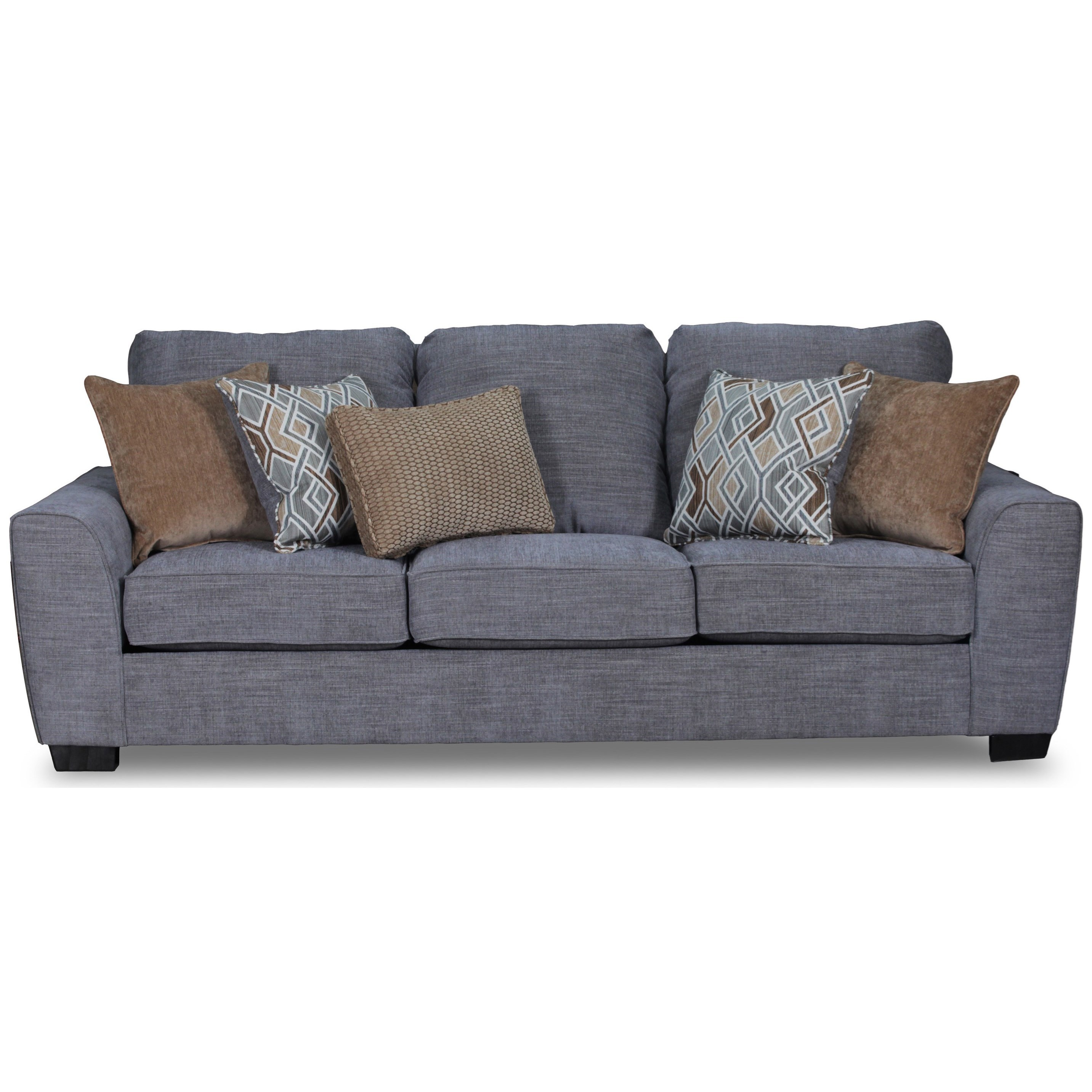 Contemporary Couch 9770br Contemporary Sofa By United Furniture Industries At Darvin Furniture