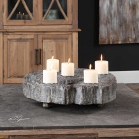 Uttermost Accessories Elwin Tree Trunk Candleholder ...