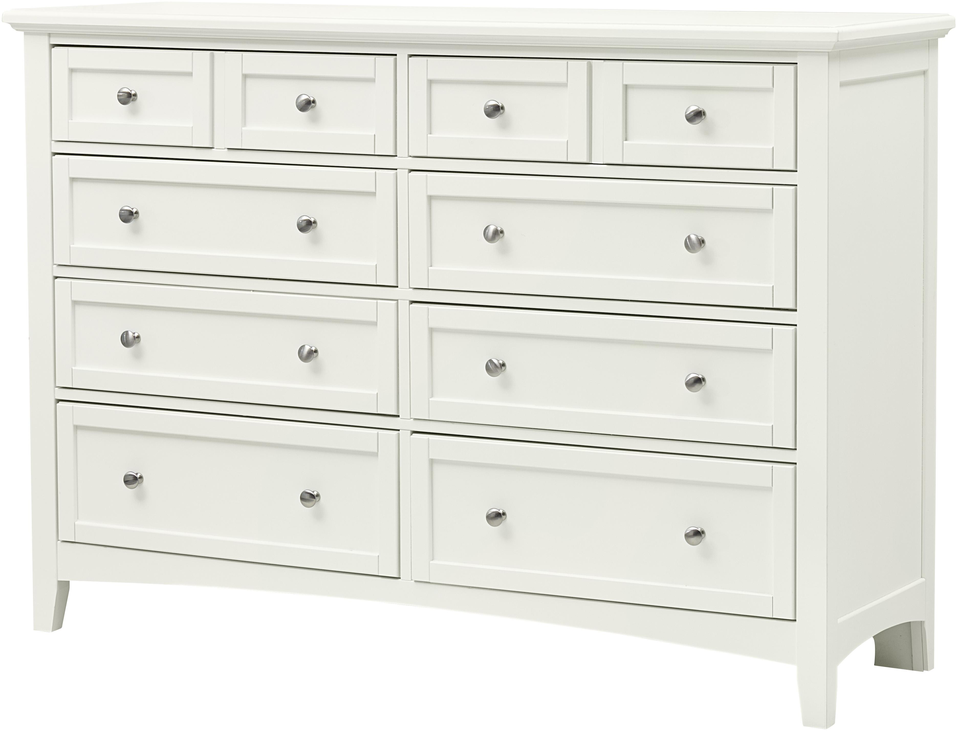 White 8 Drawer Dresser Bonanza Casual Triple Dresser 8 Drawers By Vaughan Bassett At Belfort Furniture
