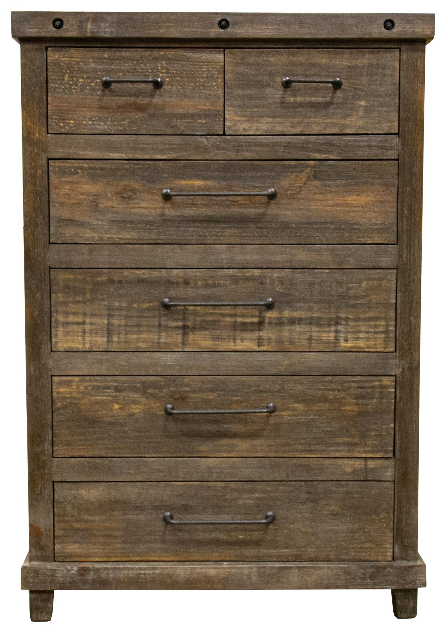 6 Drawer Chest Of Drawers Industrial 6 Drawer Chest By Vintage At Great American Home Store
