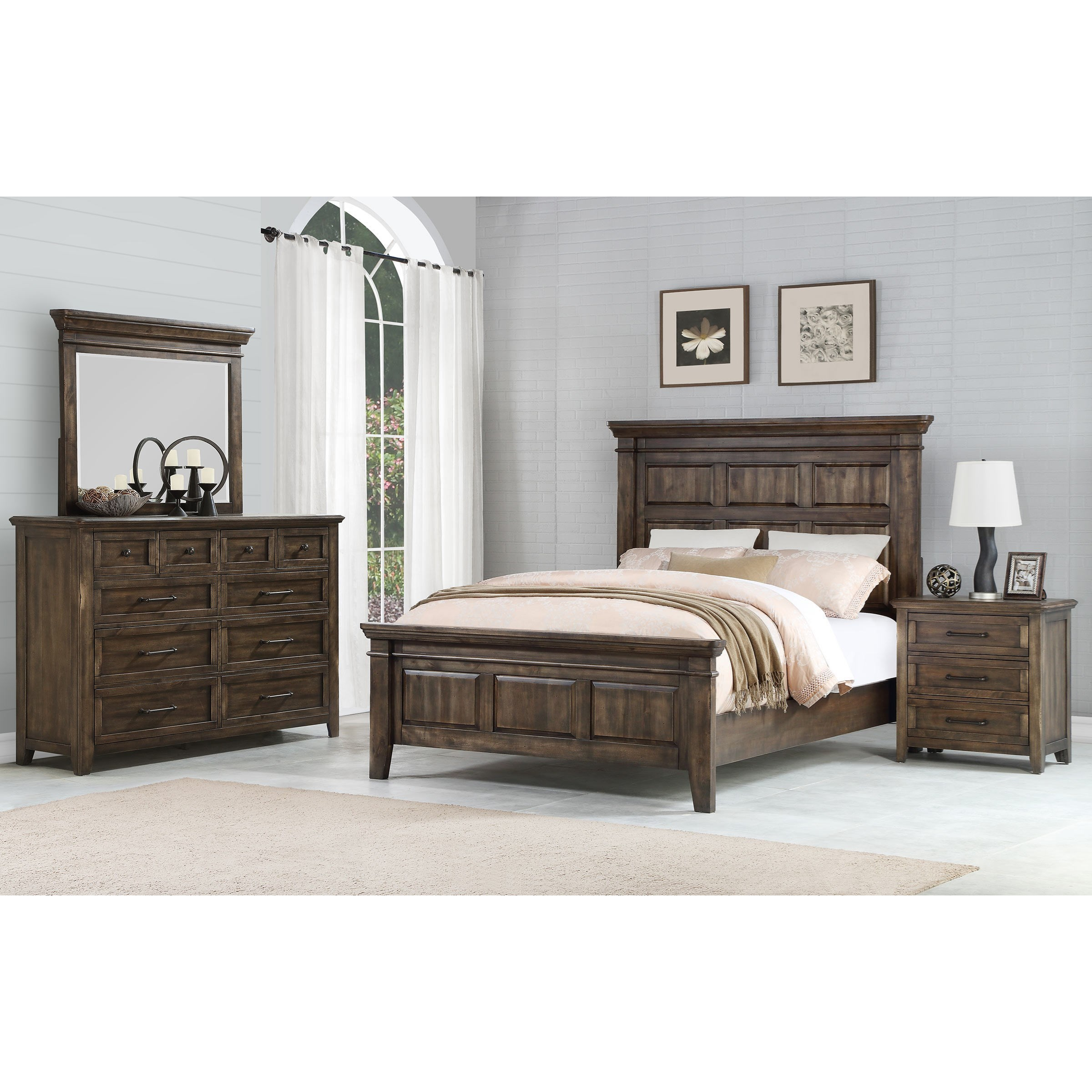 Bed Queen Daphne Queen Bed Room Group By Winners Only At Crowley Furniture Mattress