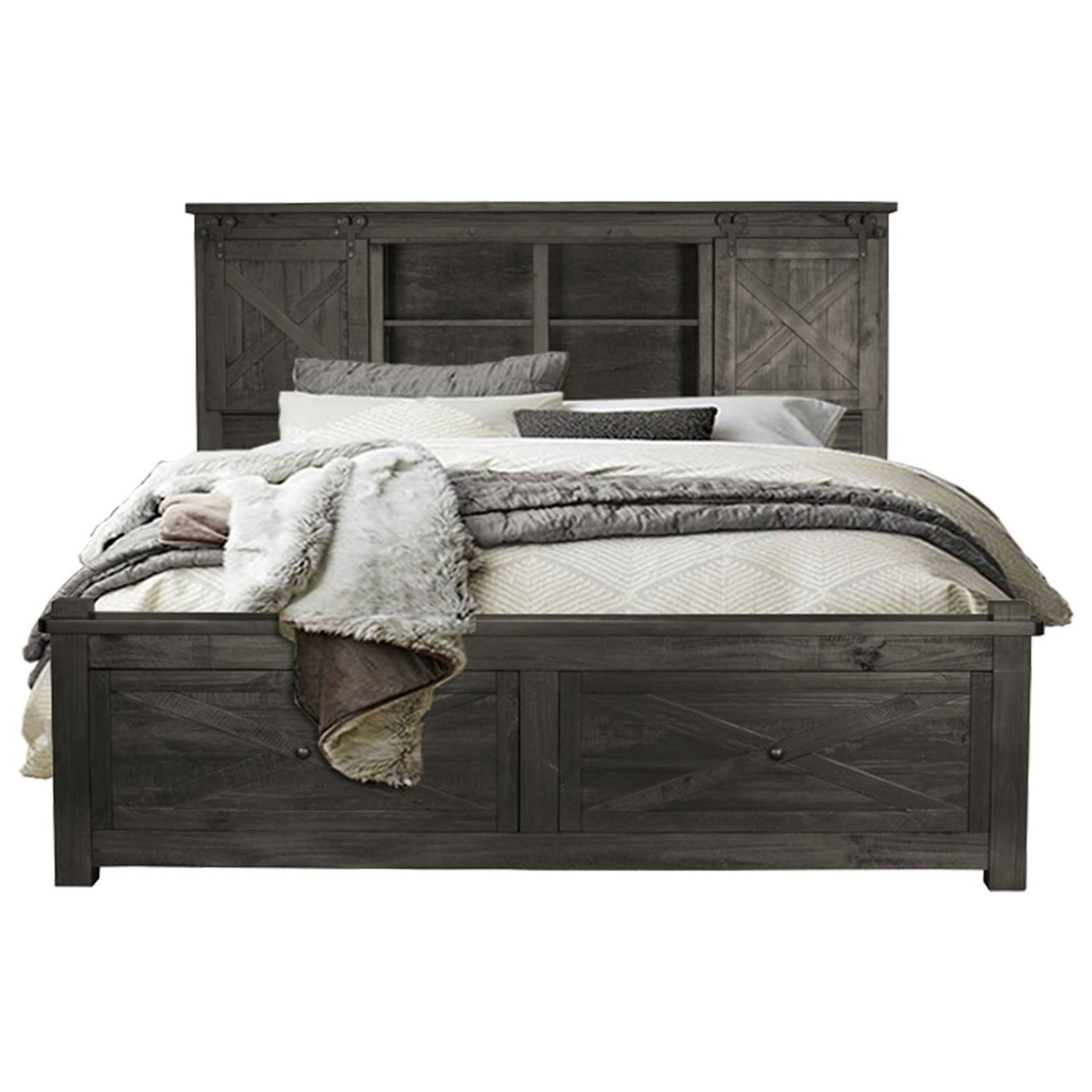 Bedroom Bench King Bed Aamerica Sun Valley King Size Storage Bed With Footboard