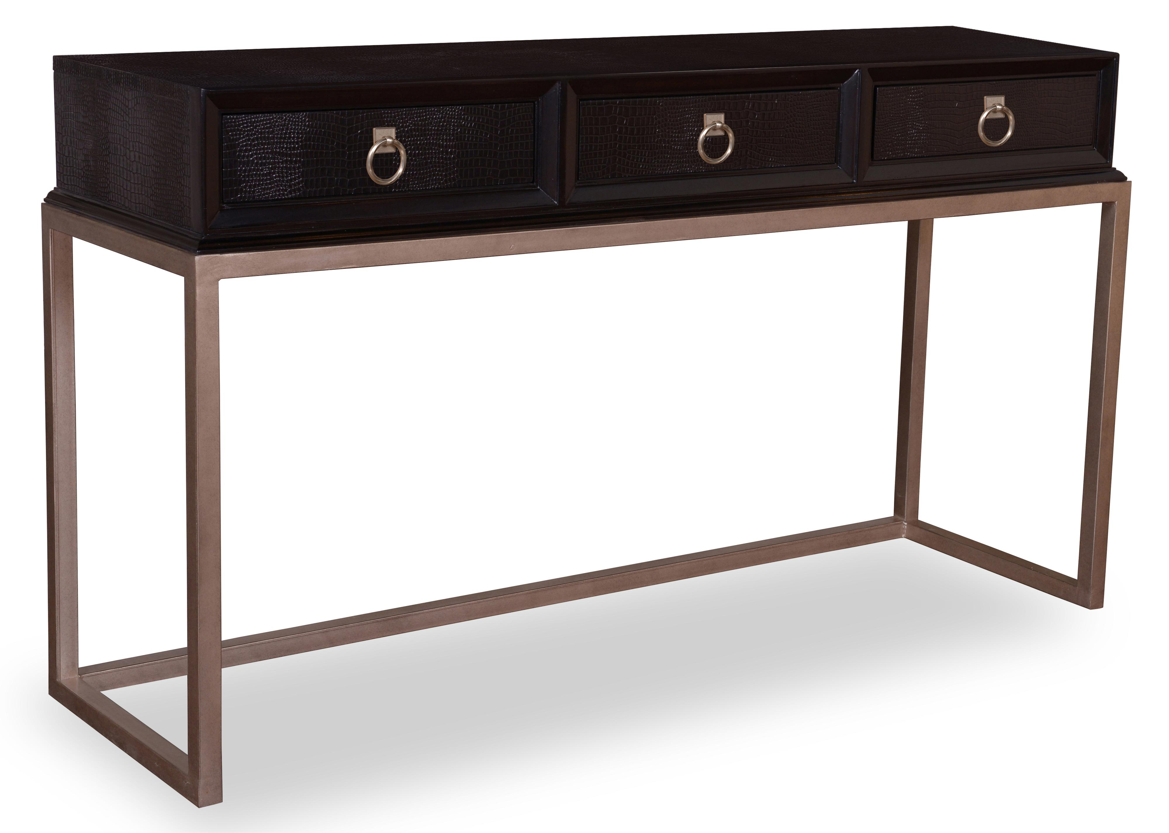 Table Consoles A R T Furniture Inc Cosmopolitan Console Table With Faux