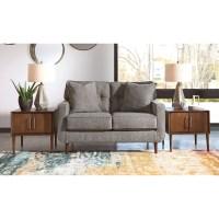 Ashley Furniture Zardoni Mid-Century Modern Loveseat ...