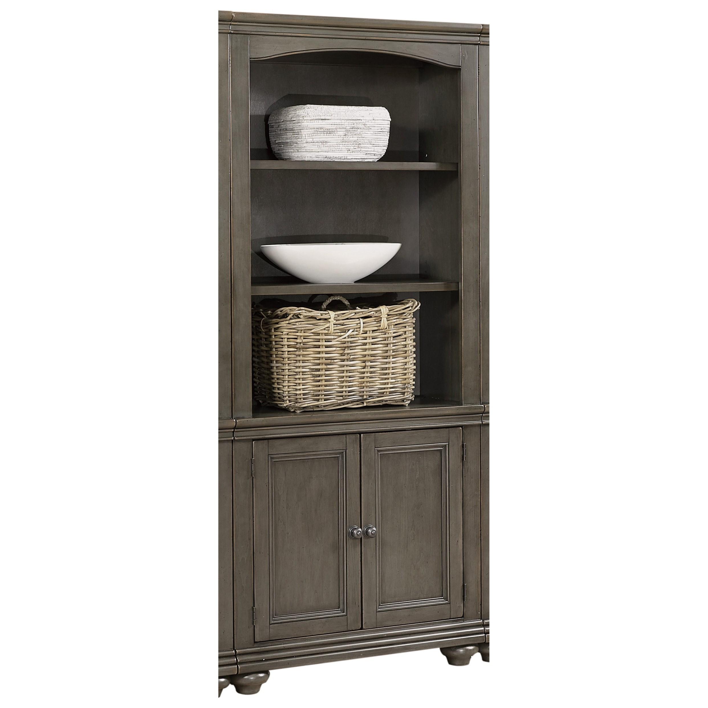 Birch Home Oxford Door Bookcase With Adjustable Shelves