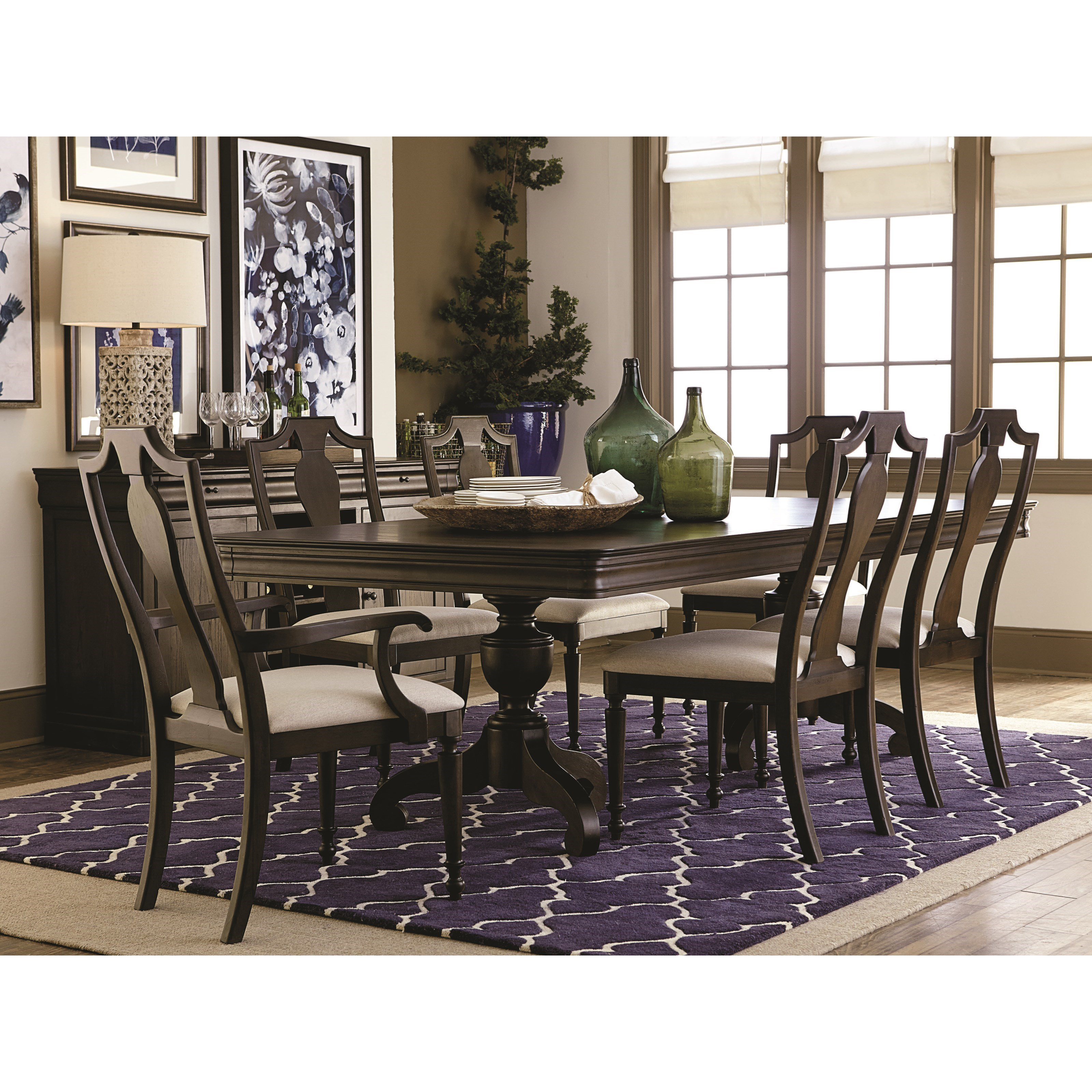 Basset Dining Room Bassett Provence Formal Dining Room Table And Chair Set