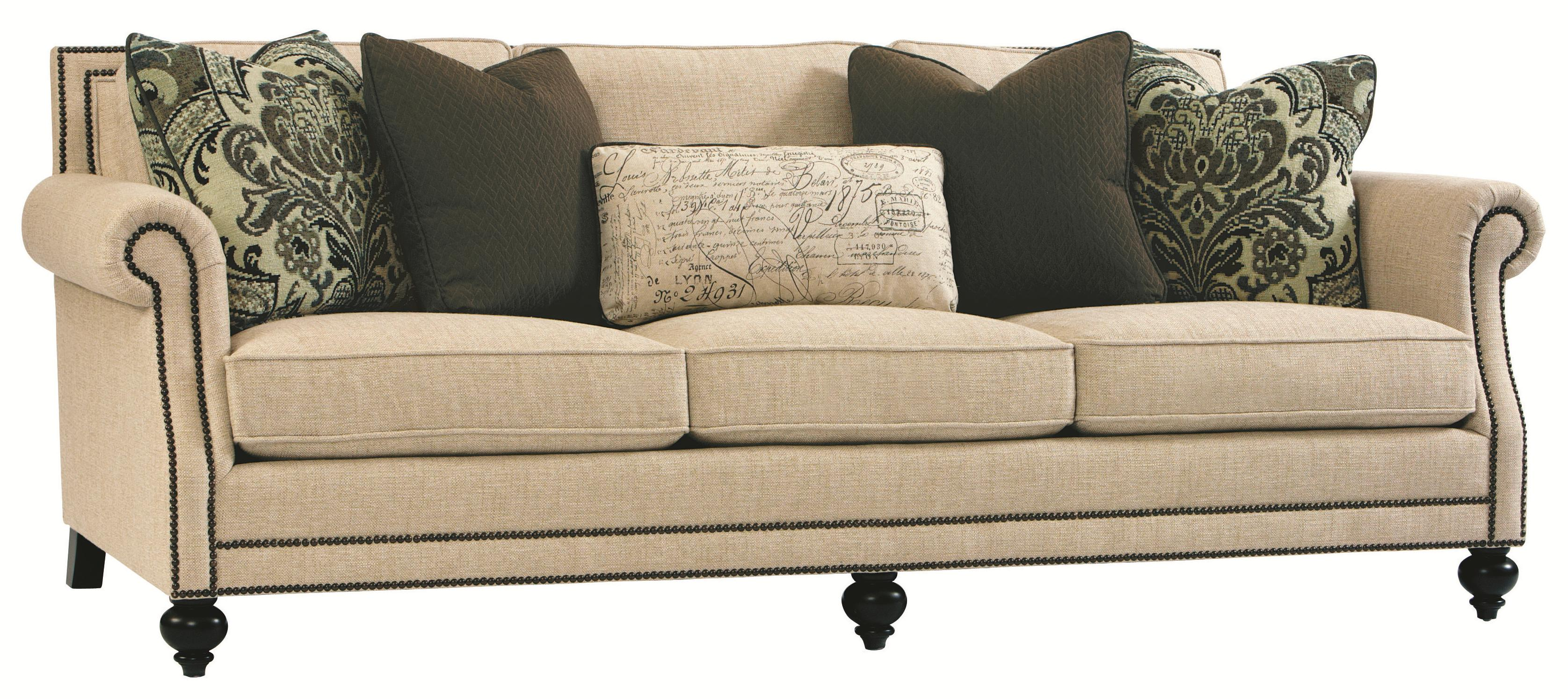 High End Coffee Tables Living Room Bernhardt Brae Elegant And Traditional Living Room Sofa