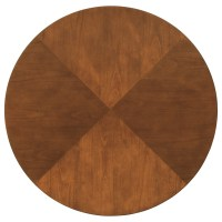 Coaster Boyer 102091 Contemporary Two-Tone Round Table ...