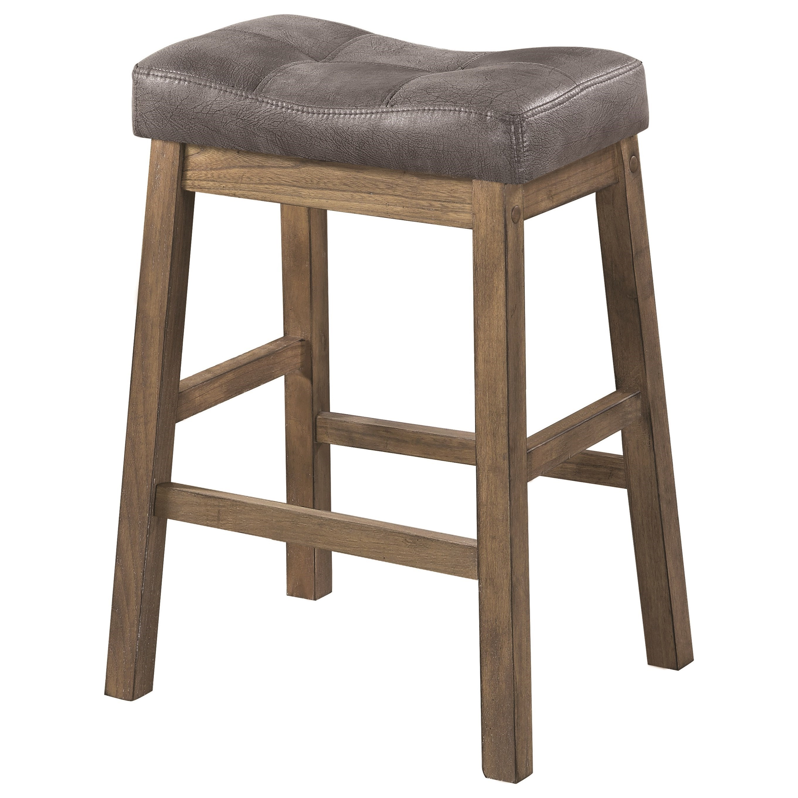 Dining Stools Coaster Dining Chairs And Bar Stools Rustic Backless