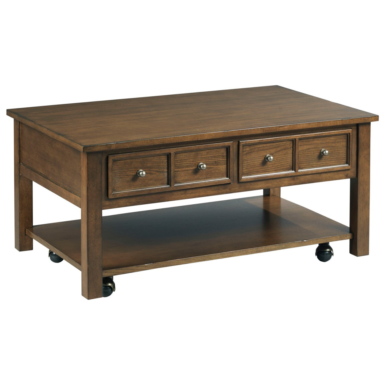 Small Rectangular Side Tables England Champlain H775912 Small Rectangular 2 Drawer