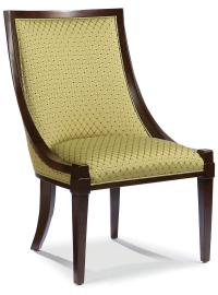 Fairfield Chairs 1476-01 Lounge Back Exposed Wood Chair ...