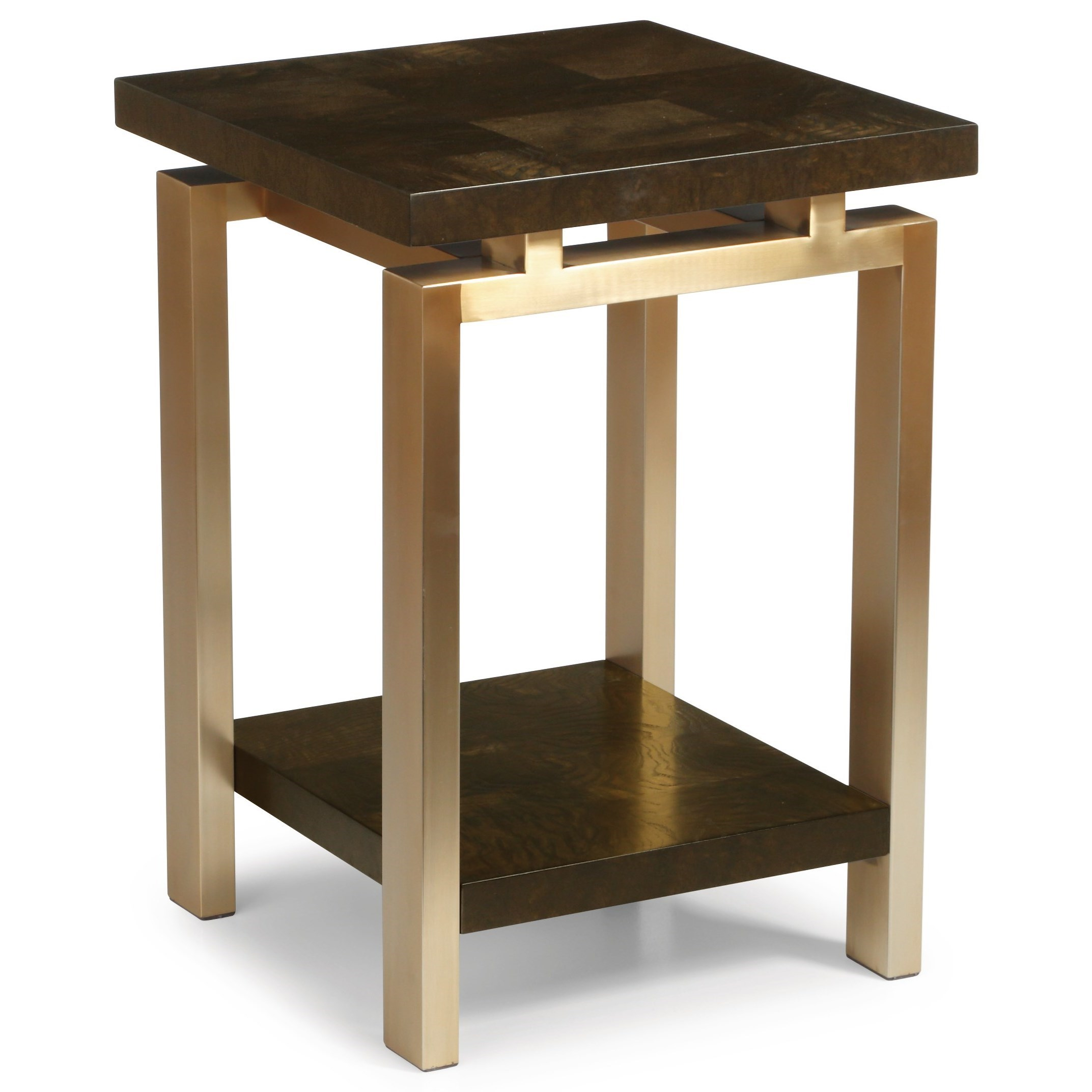 Modern Chairside Table Wynwood A Flexsteel Company Maya Contemporary Chairside
