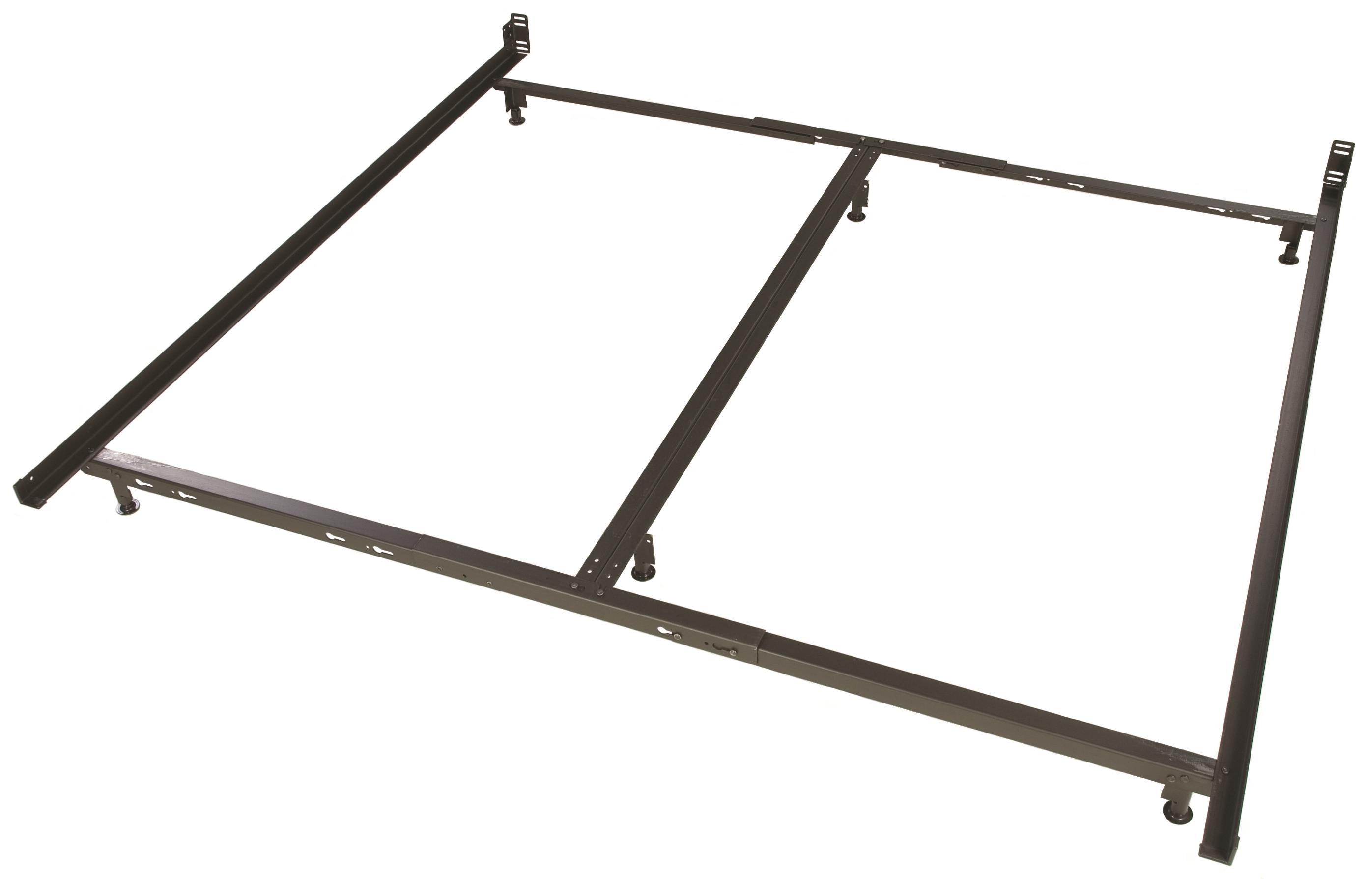 Twin Bed Frame Low Profile Glideaway Low Profile Bed Frames Lb44 6 Leg King Low