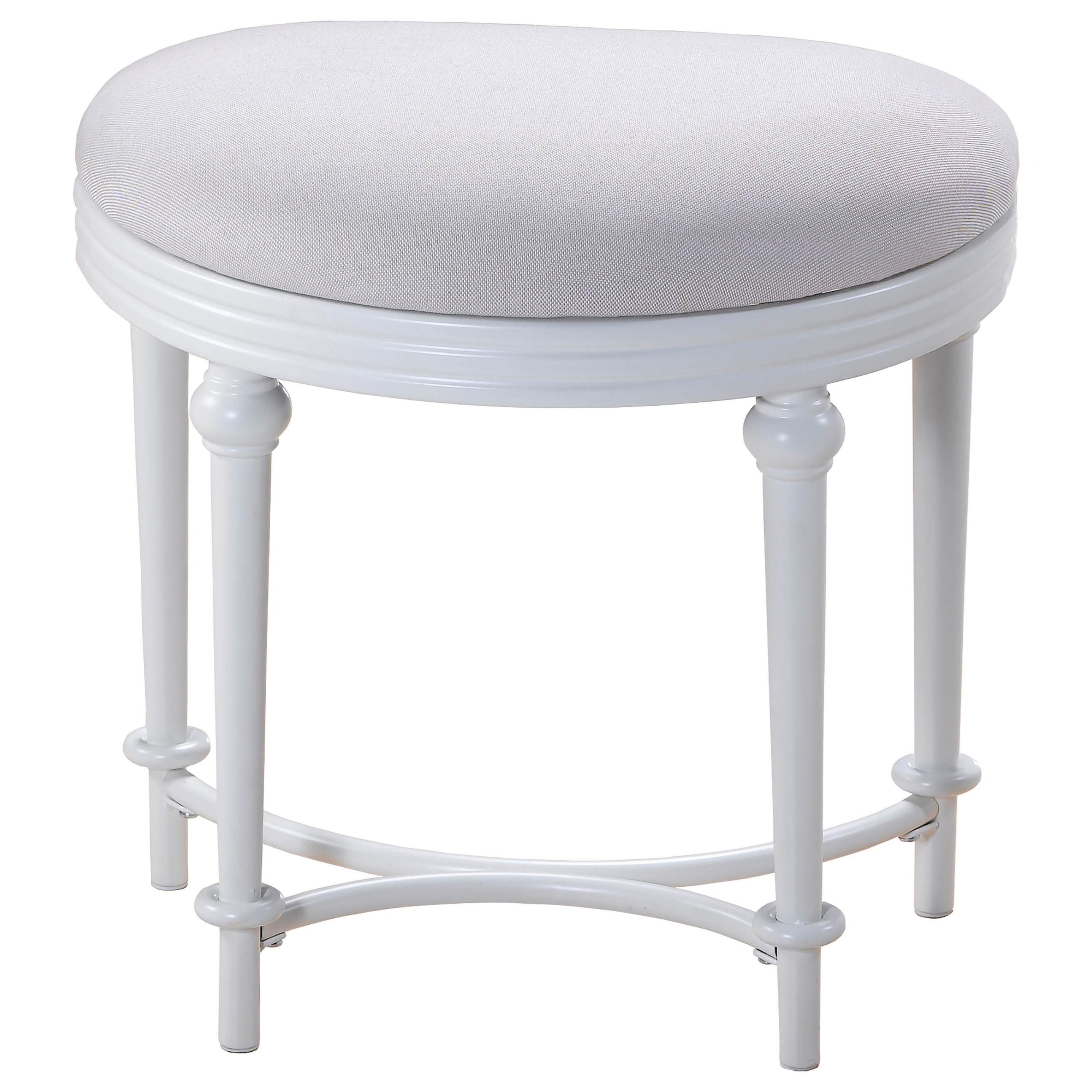 Vanity Stools Or Benches Hillsdale Vanity Stools Oval Vanity Stool With Upholstered