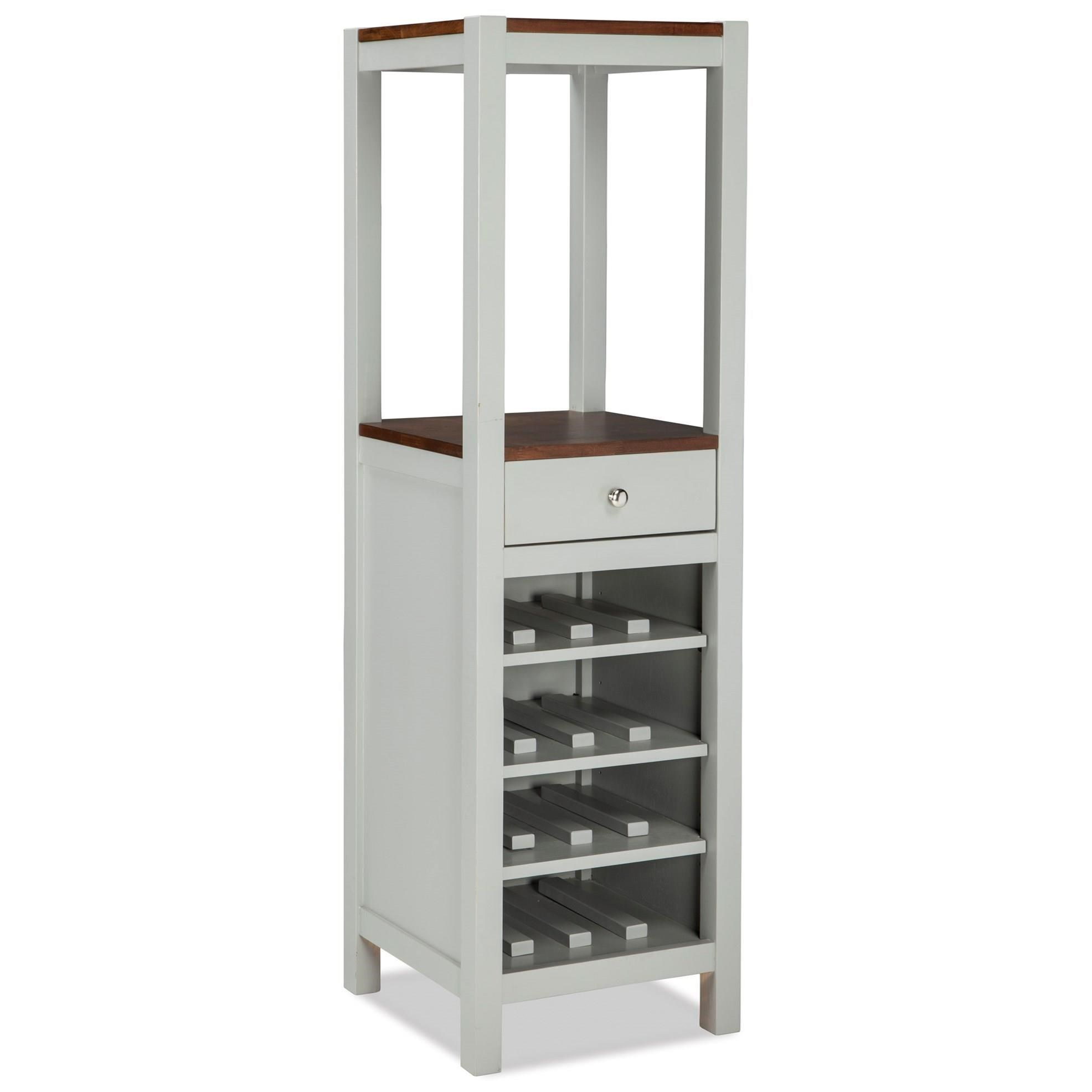Small Wine Storage Cabinets Intercon Small Space Vertical Wine And Dining Storage
