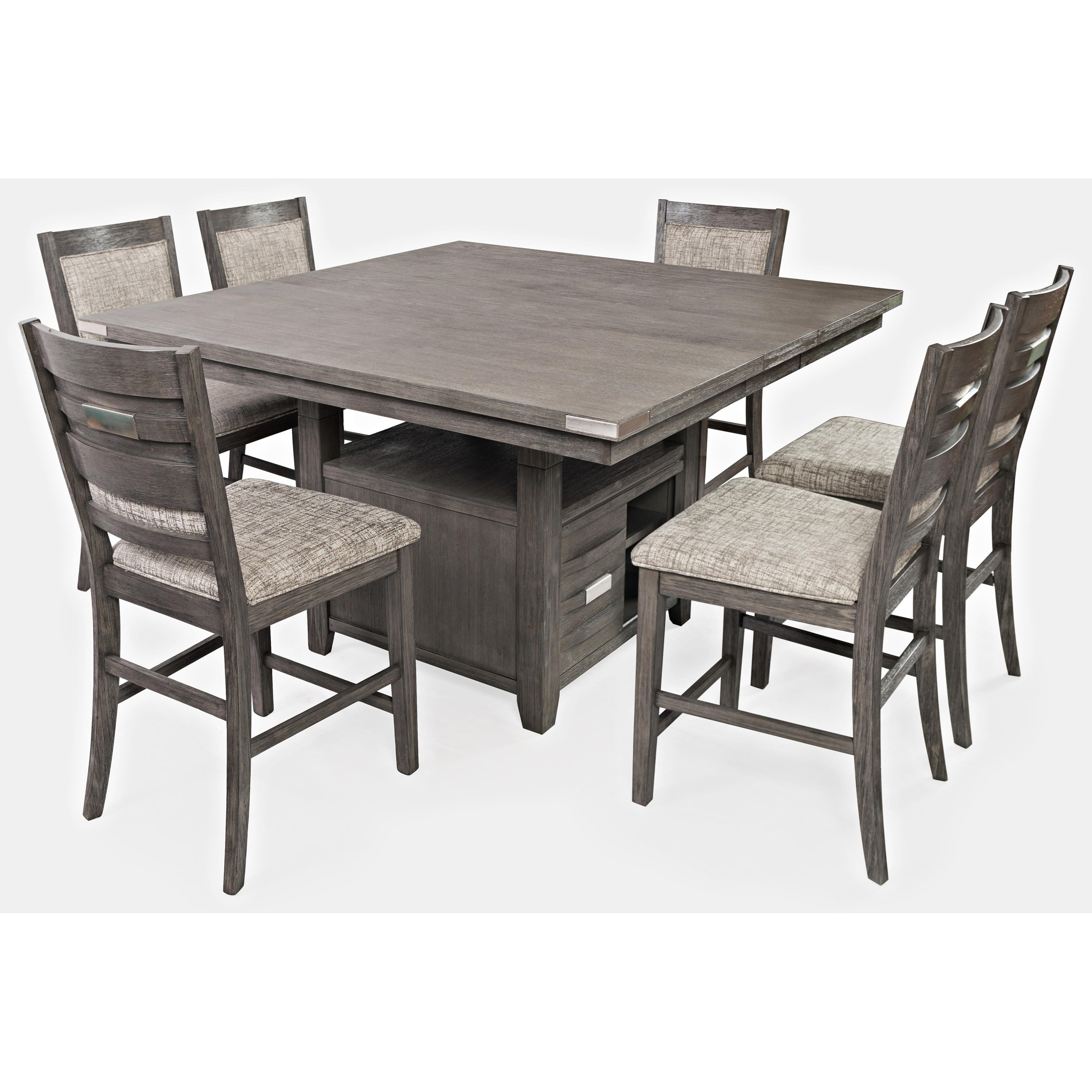Square Dining Table With Storage Jofran Altamonte Square Dining W Storage Base Value City