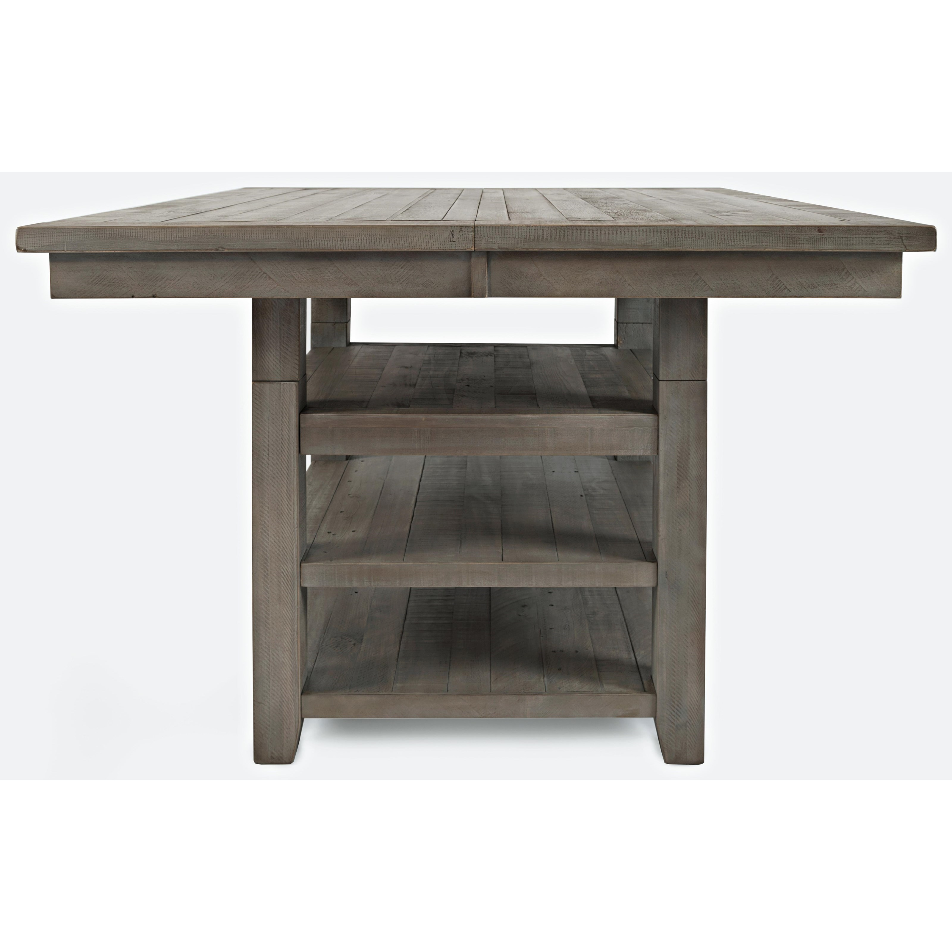 Square Dining Table With Storage Jofran Outer Banks 1841 60 Hi Low Square Storage Dining