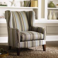 Klaussner Chairs and Accents Polo Accent Wing Chair ...