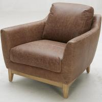 Urban Evolution Baker Modern Leather Chair | Belfort ...