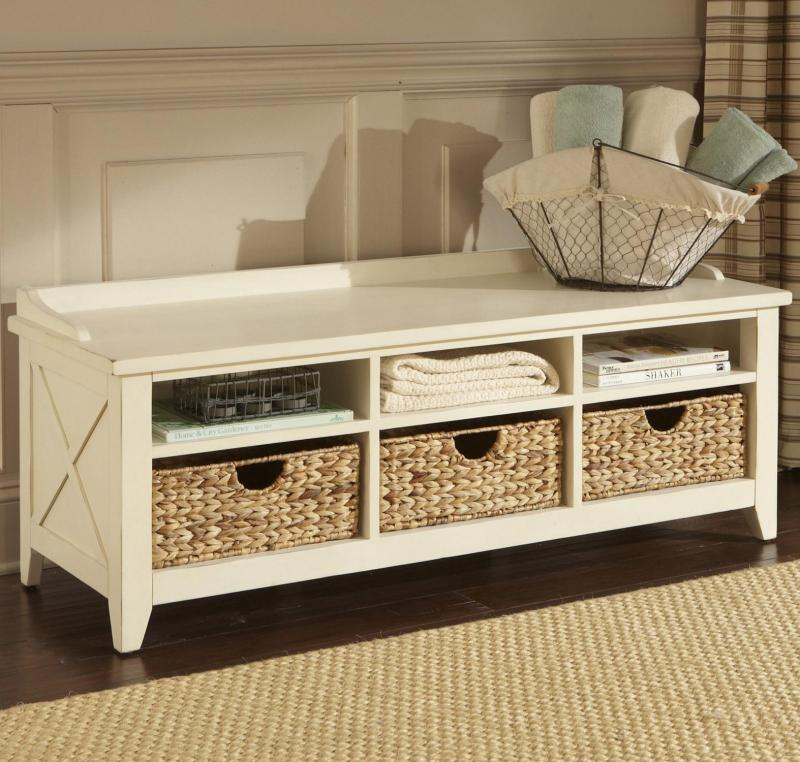 Large Of Wooden Storage Bench