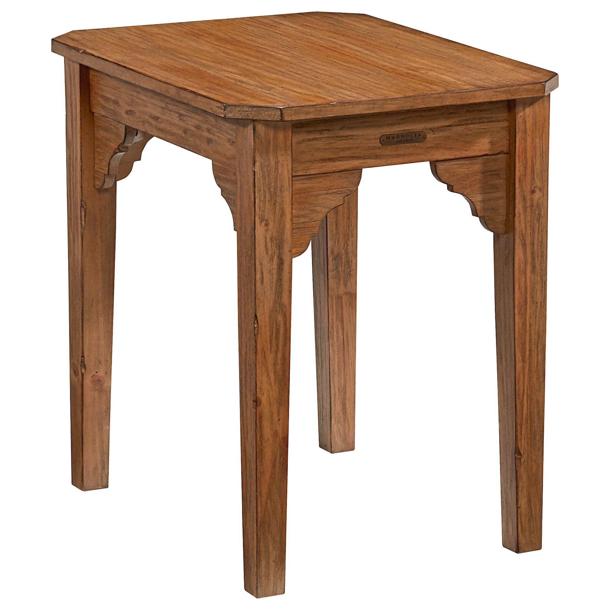 Joanna Gaines Farmhouse Bar Stools Magnolia Home By Joanna Gaines Farmhouse End Table With