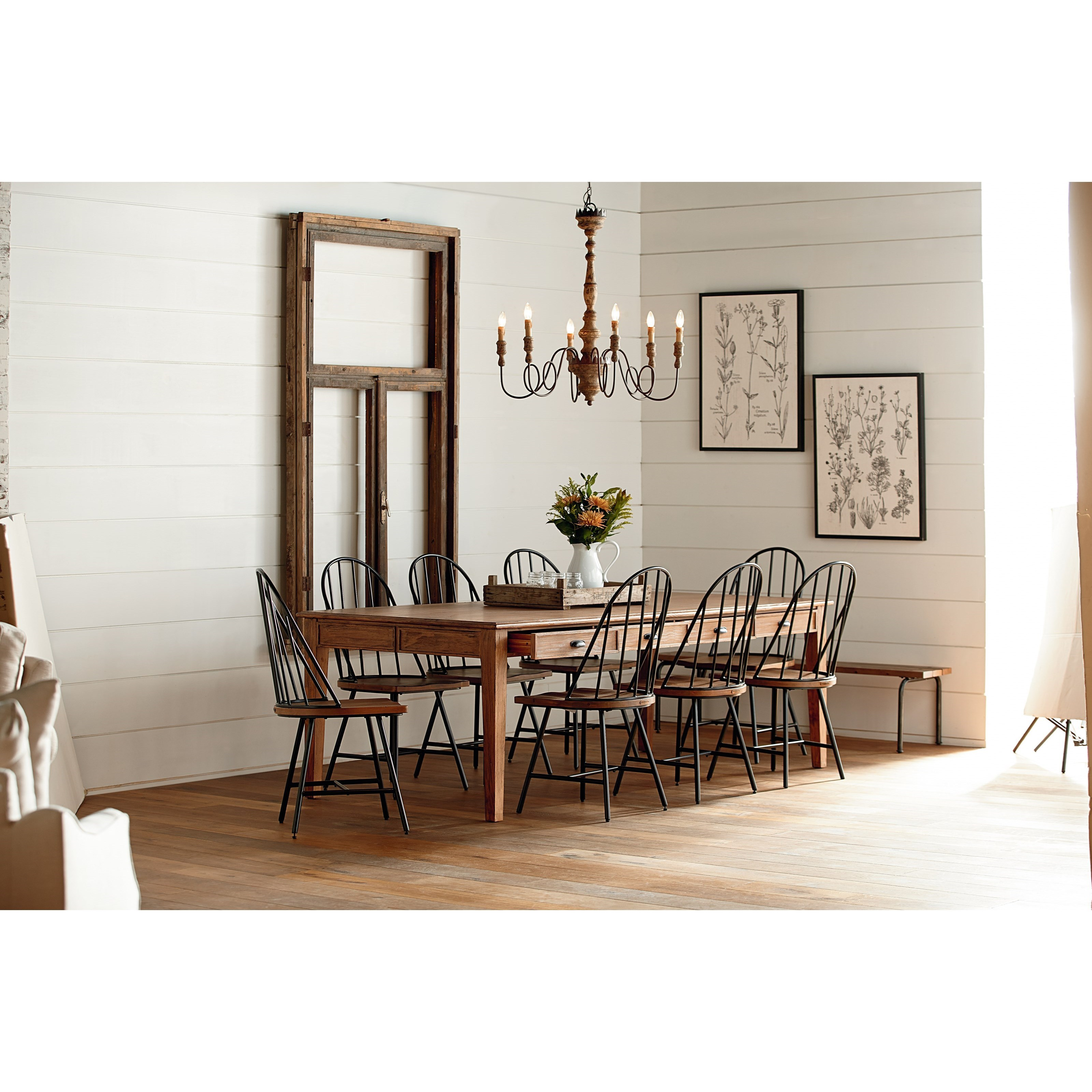 Joanna Gaines Farmhouse Dining Room Magnolia Home By Joanna Gaines Farmhouse 10 Piece Dining