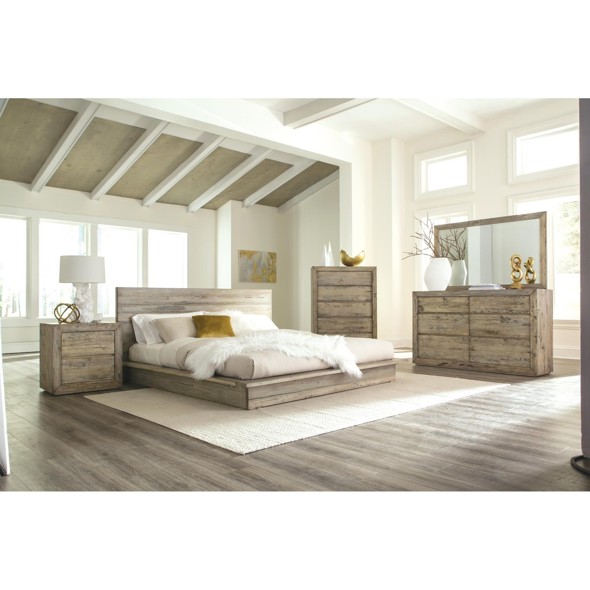 Difference Between King And Queen Bed Napa Furniture Designs Renewal Queen Bedroom Group