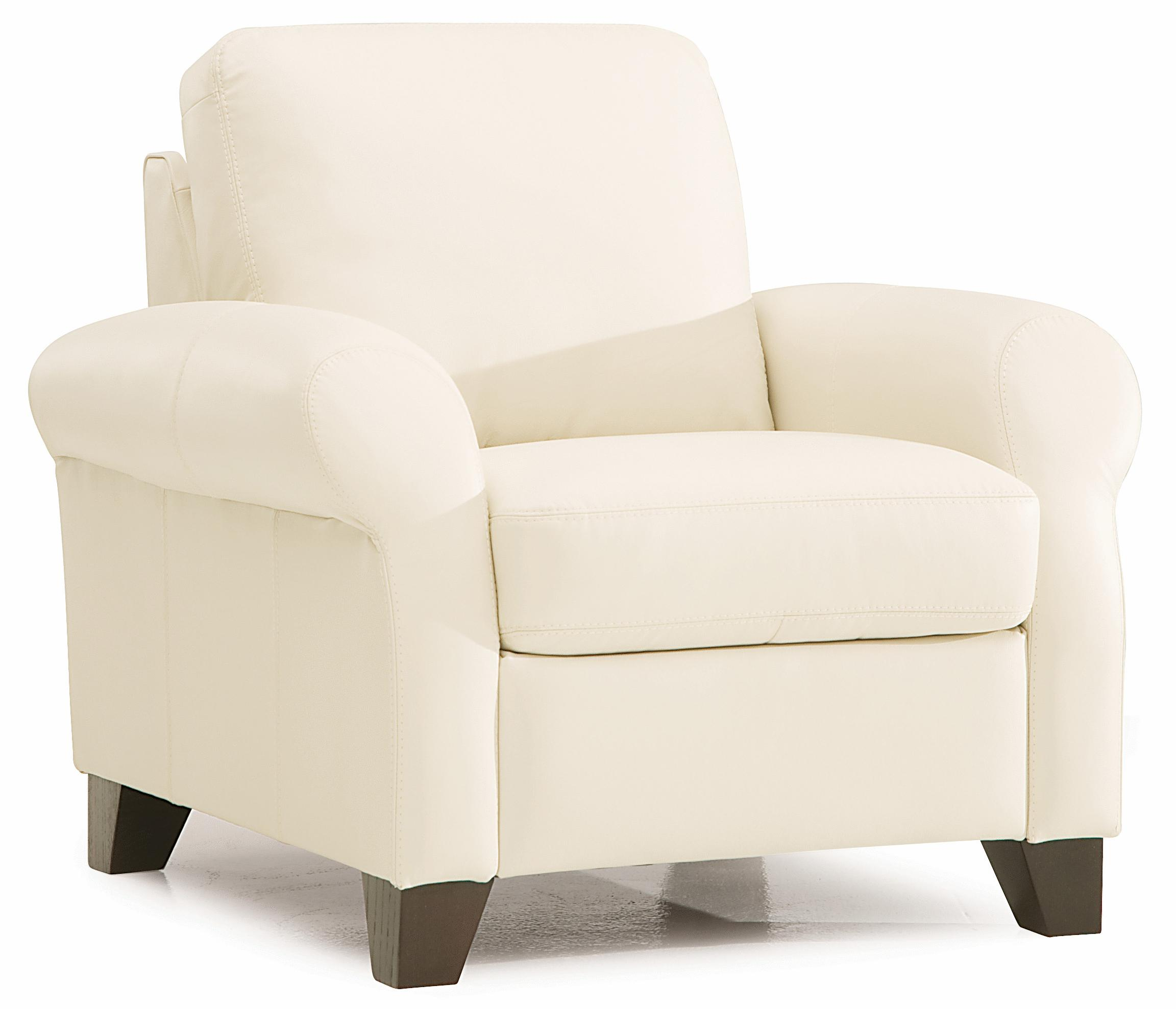 Recliner Chairs Ottawa Palliser Ottawa Transitional Chair With Sock Arms And Wood