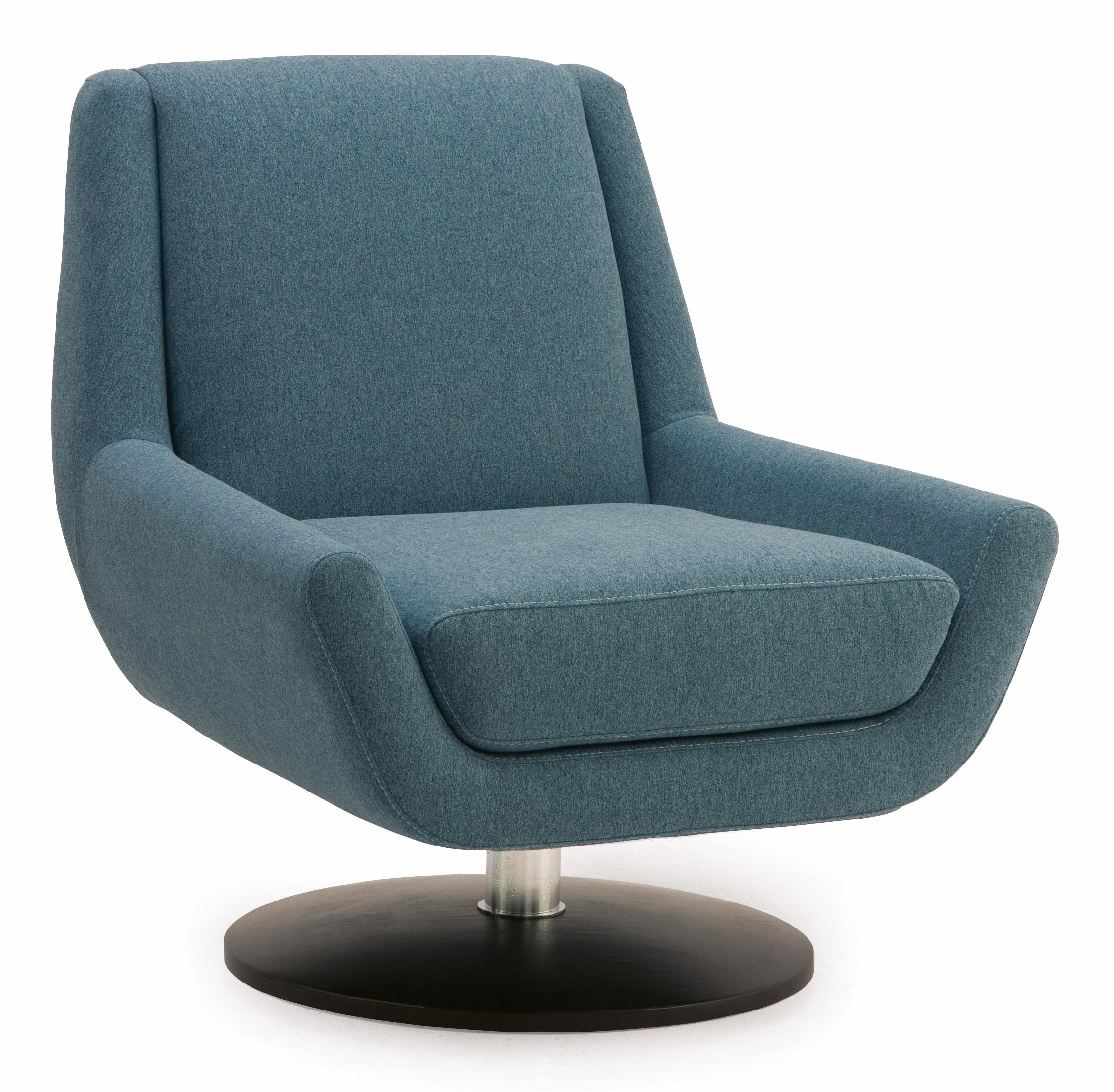 Palliser Plato 70017 96 Contemporary Swivel Chair With