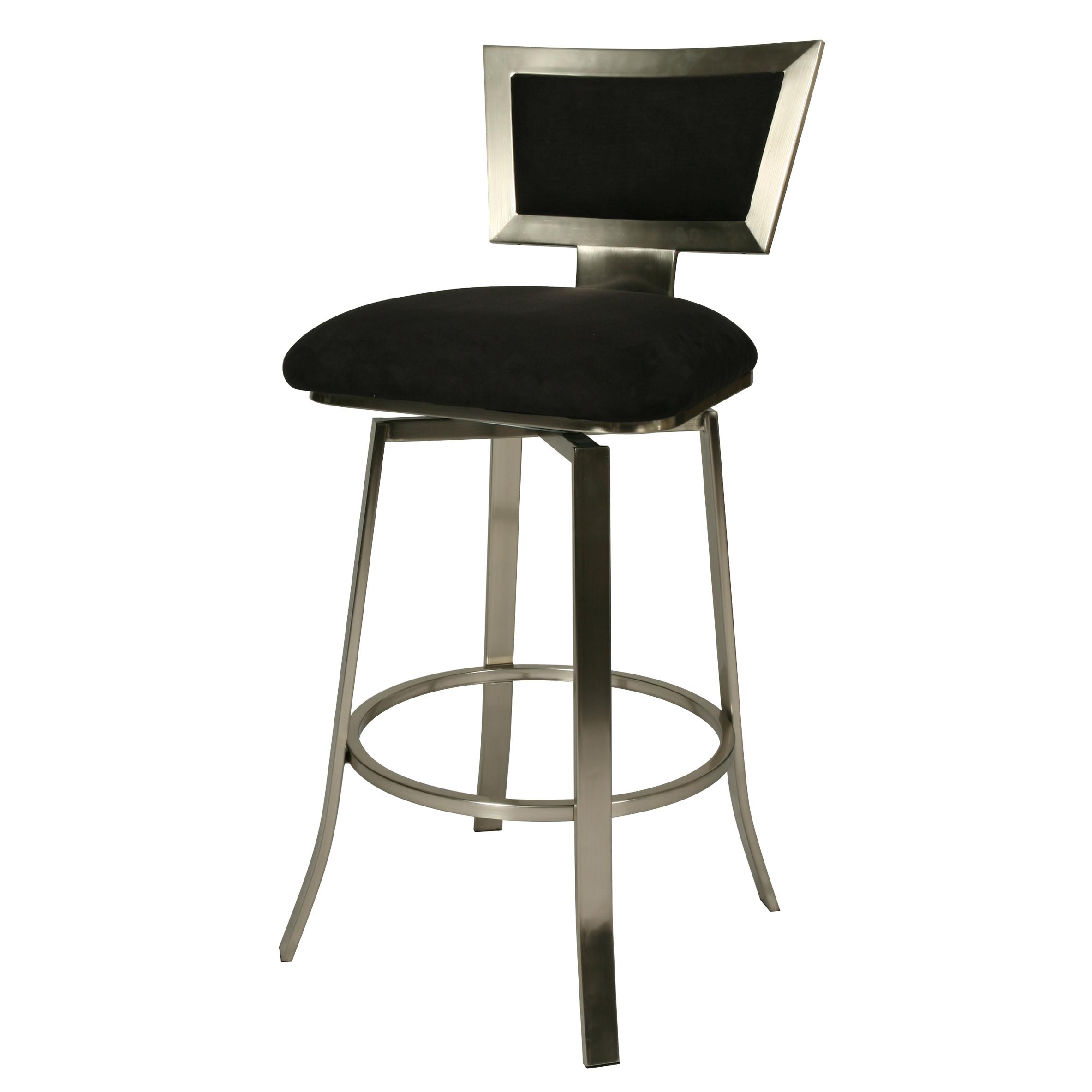 Contemporary Bar Stools Modern Swivel Bar Stools With Back Shapeyourminds