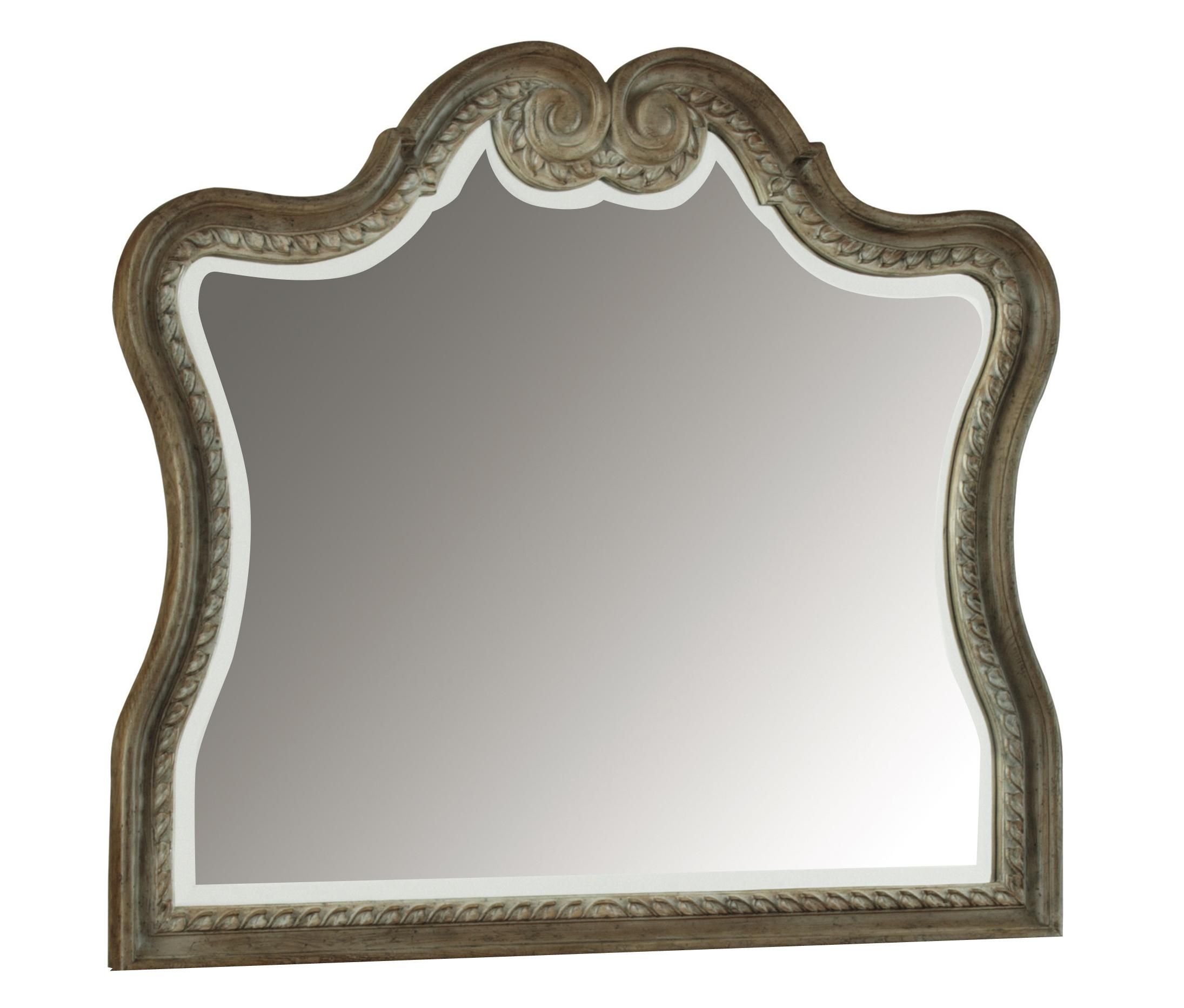 Unique Shaped Mirror Pulaski Furniture Arabella Decorative Shaped Mirror