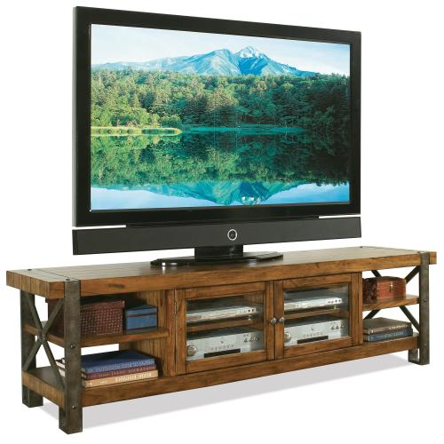 80 Inch Tv Stand In Indoor Riverside Furniture Sierra Tv Console