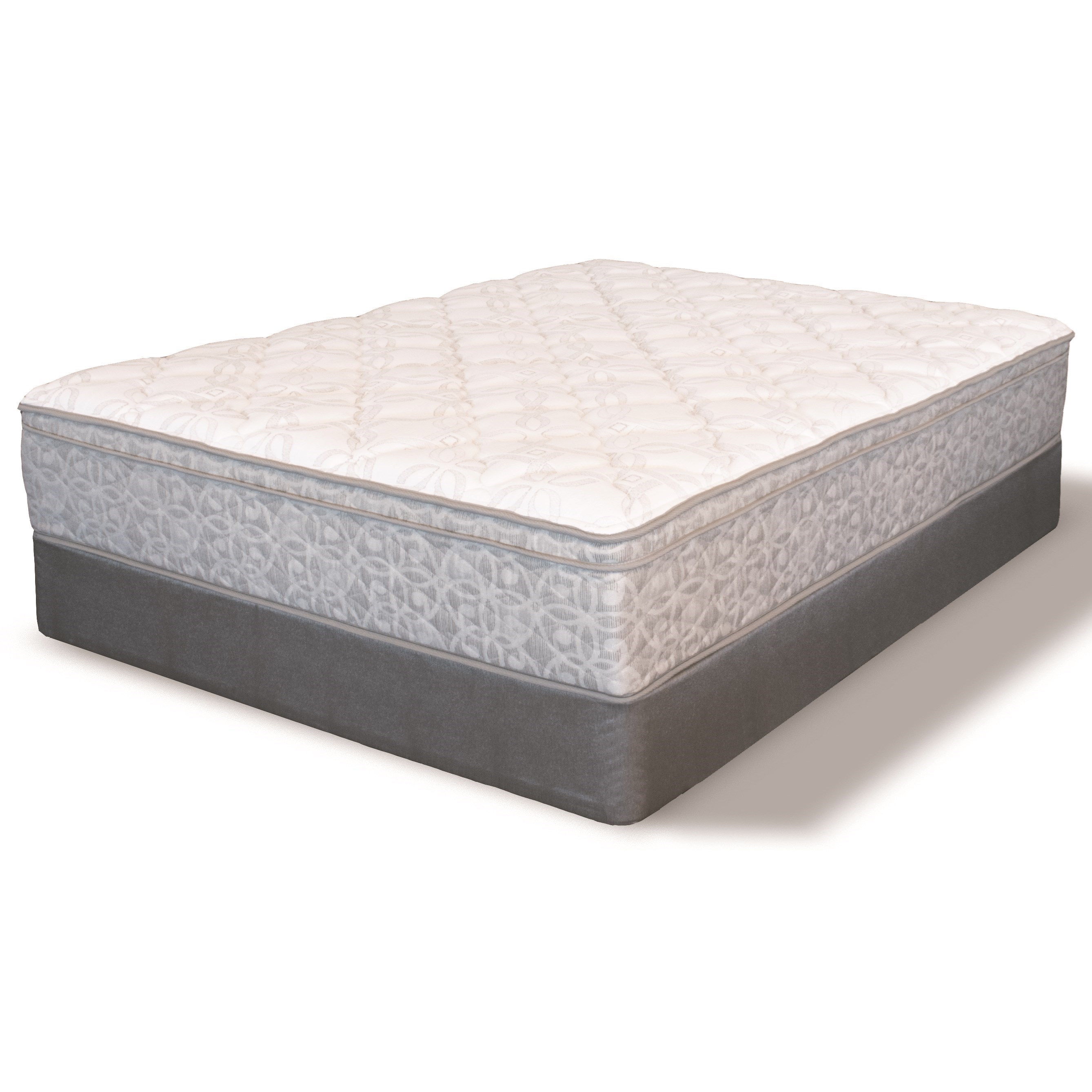 Low Profile Innerspring Mattress Serta Ms Heidleburg Euro Top Twin Euro Top Innerspring