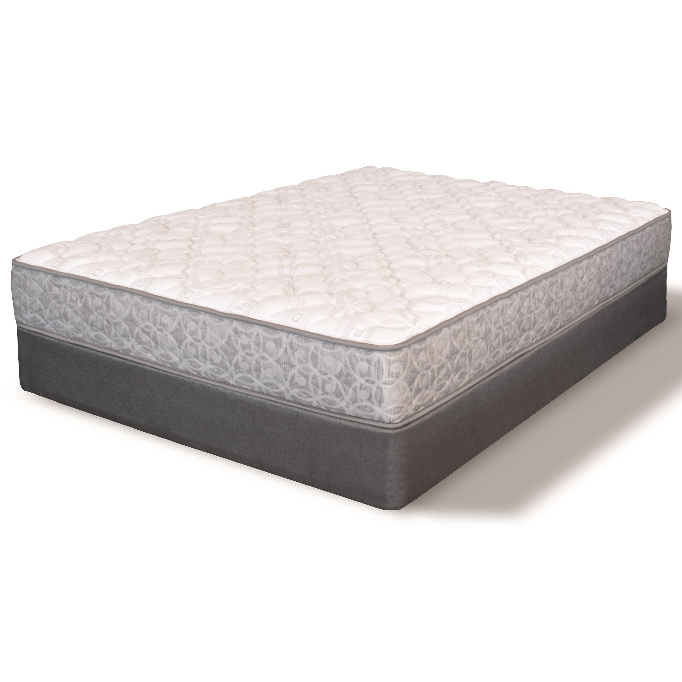 Low Profile Innerspring Mattress Serta Ms Heidleburg Firm Queen Firm Innerspring Mattress