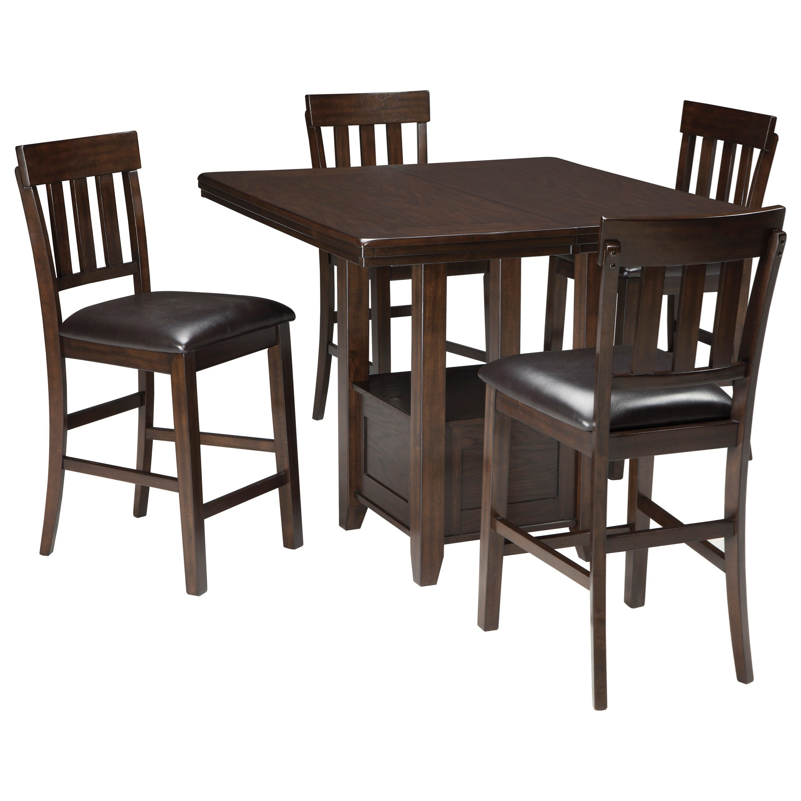 Table Ashley Signature Design By Ashley Haddigan 5 Piece Dining Room