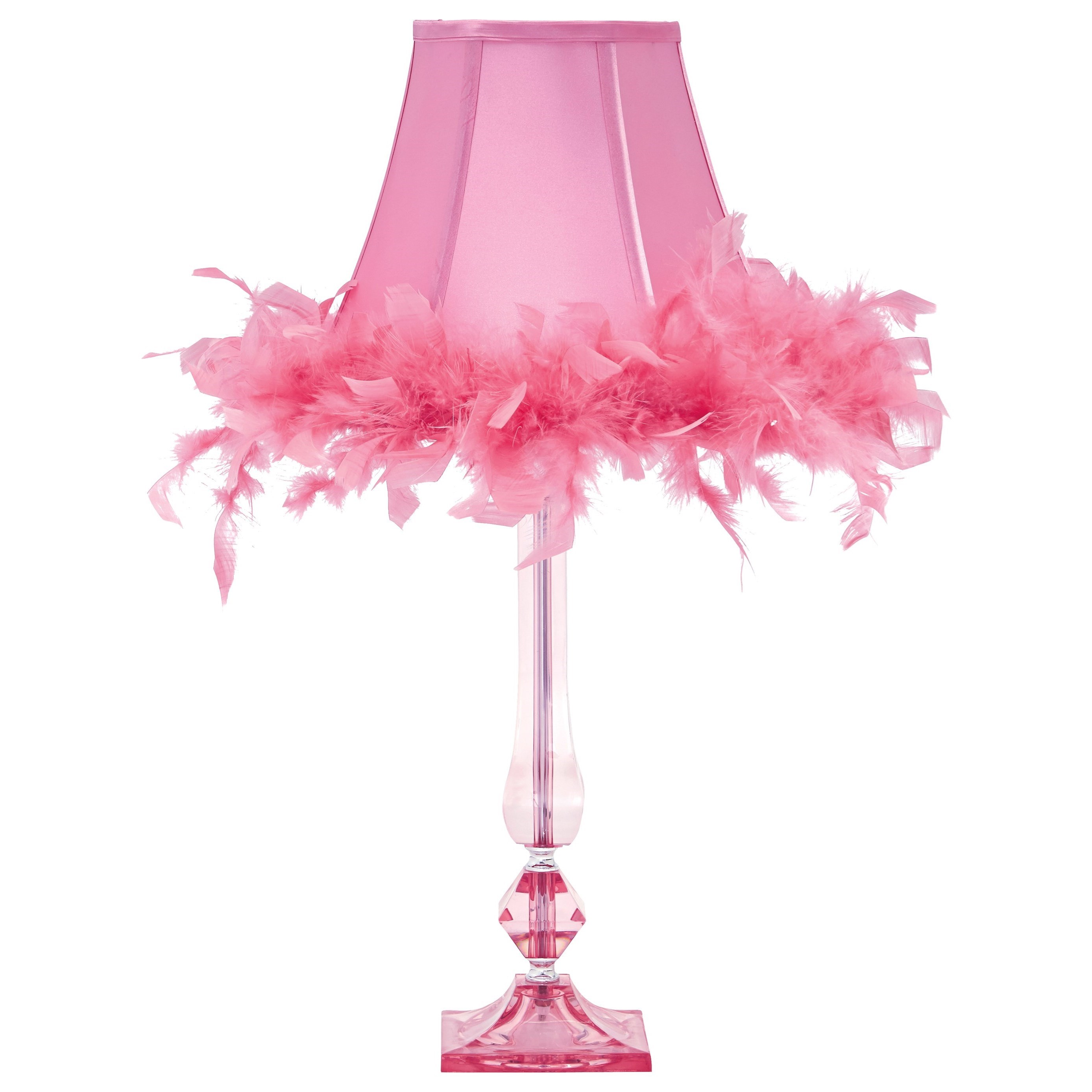 Bright Colored Table Lamps Ashley Signature Design Lamps Youth L857604 Auren Pink