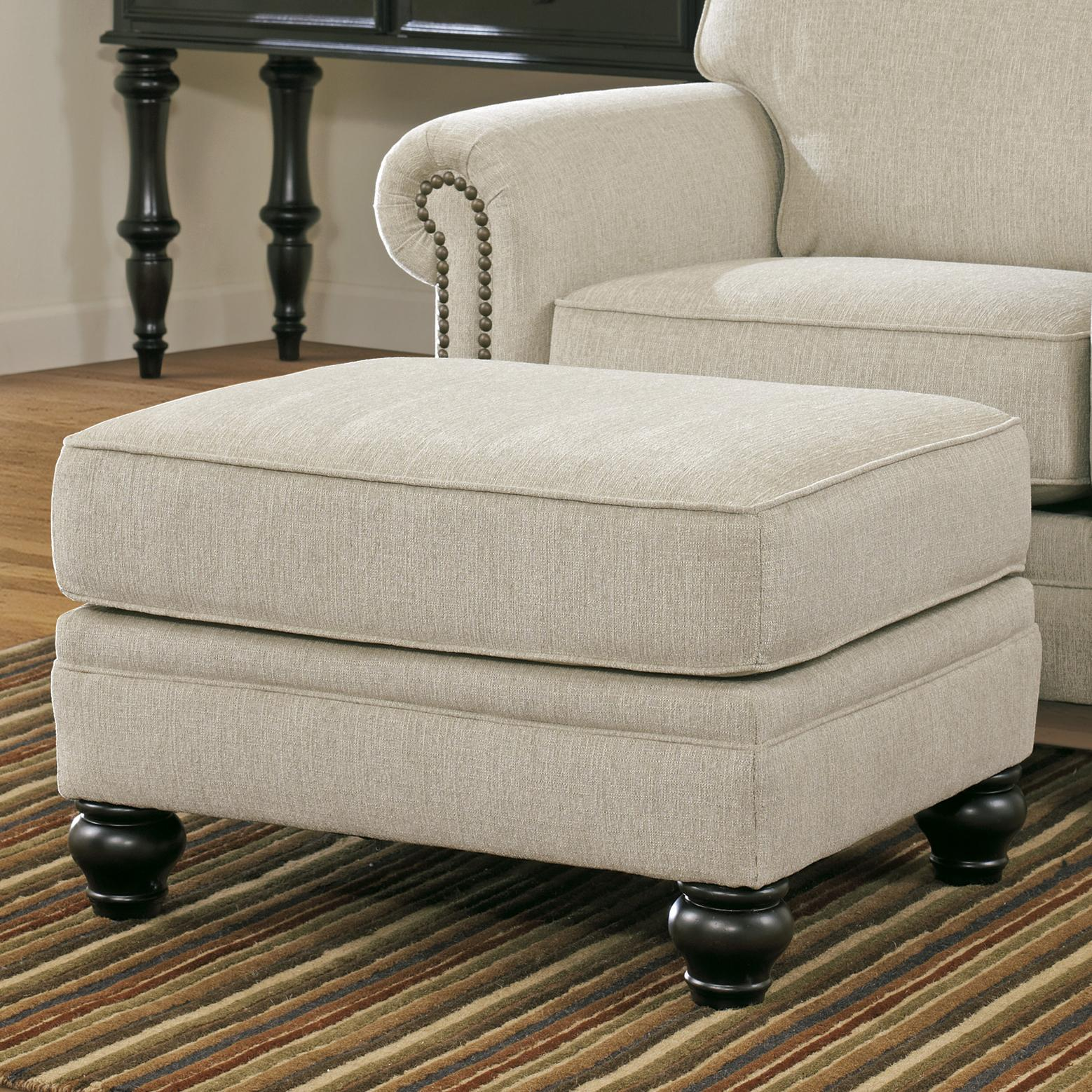 Teen Chair And Ottoman Signature Design By Ashley Milari Linen 1300014